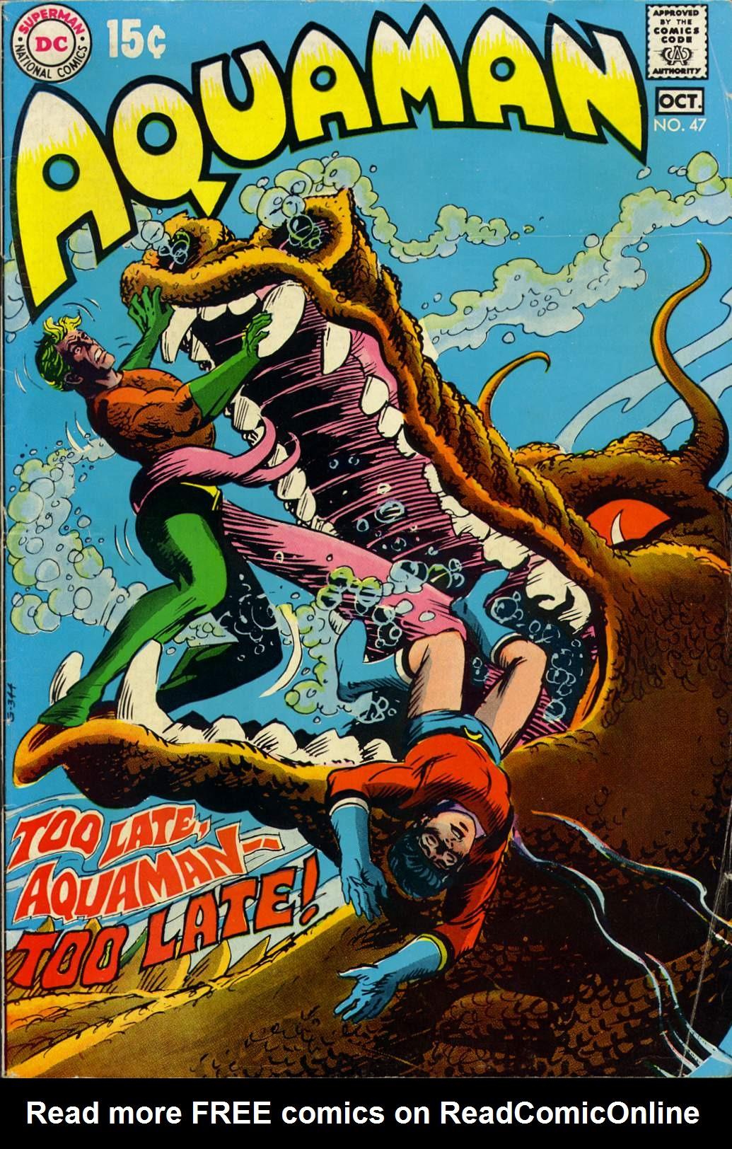 Read online Aquaman (1962) comic -  Issue #47 - 1