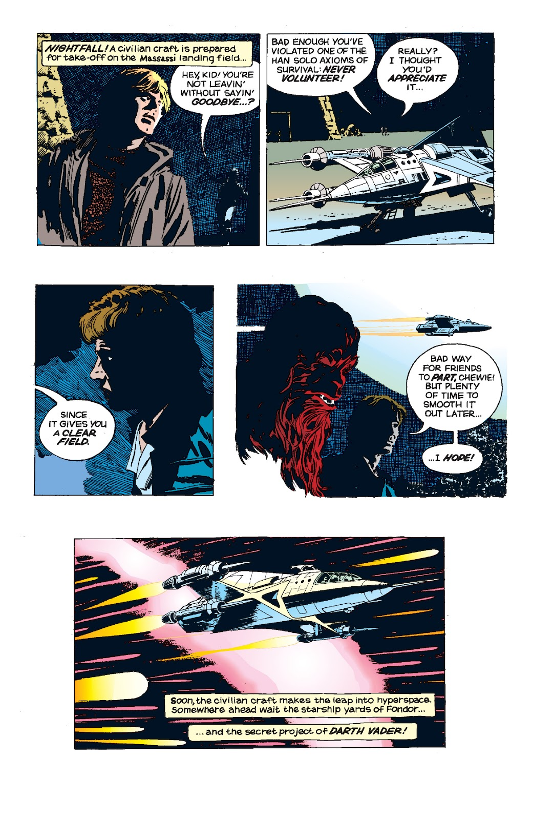 Read online Star Wars Legends: The Newspaper Strips - Epic Collection comic -  Issue # TPB (Part 5) - 39