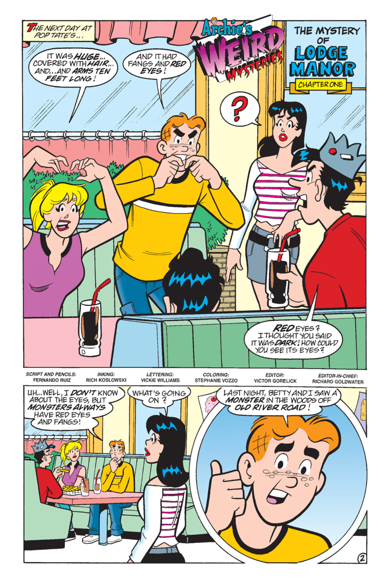 Read online Archie's Weird Mysteries comic -  Issue #24 - 3