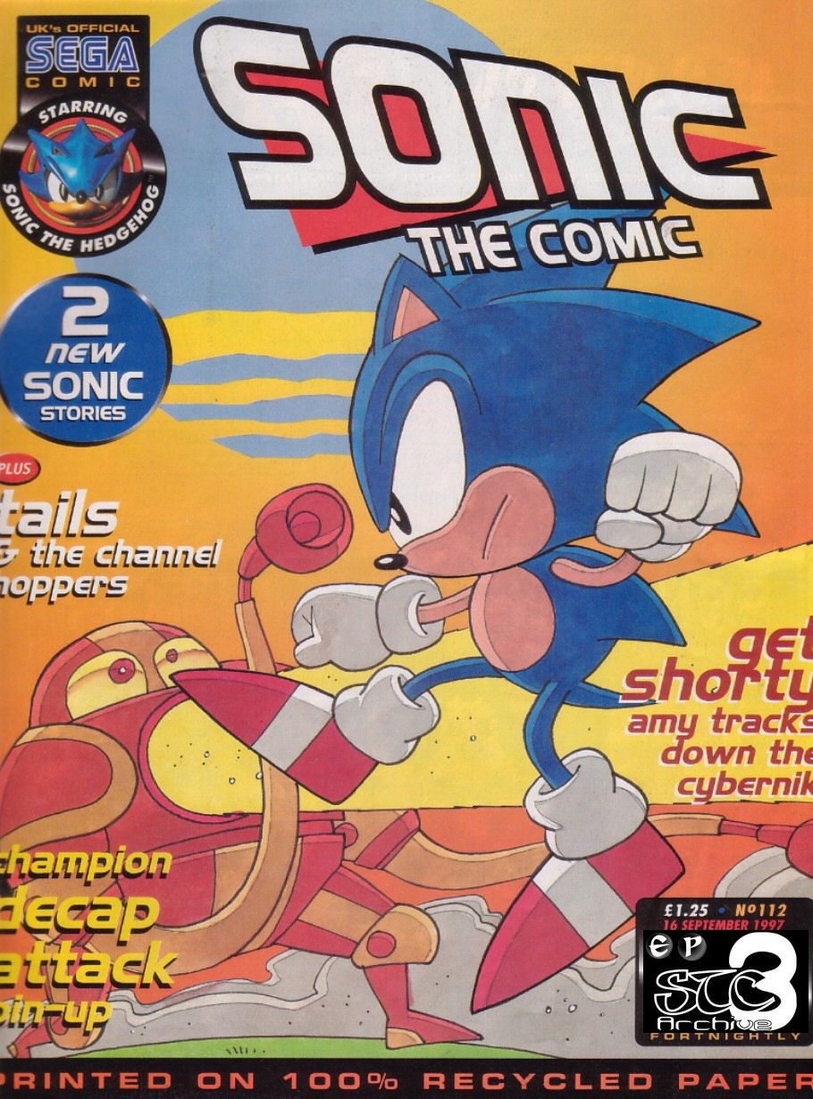 Read online Sonic the Comic comic -  Issue #112 - 1