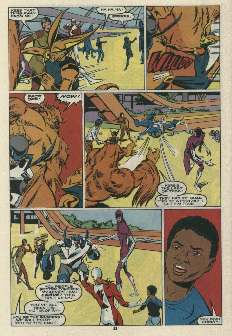 Read online Alpha Flight (1983) comic -  Issue #69 - 24