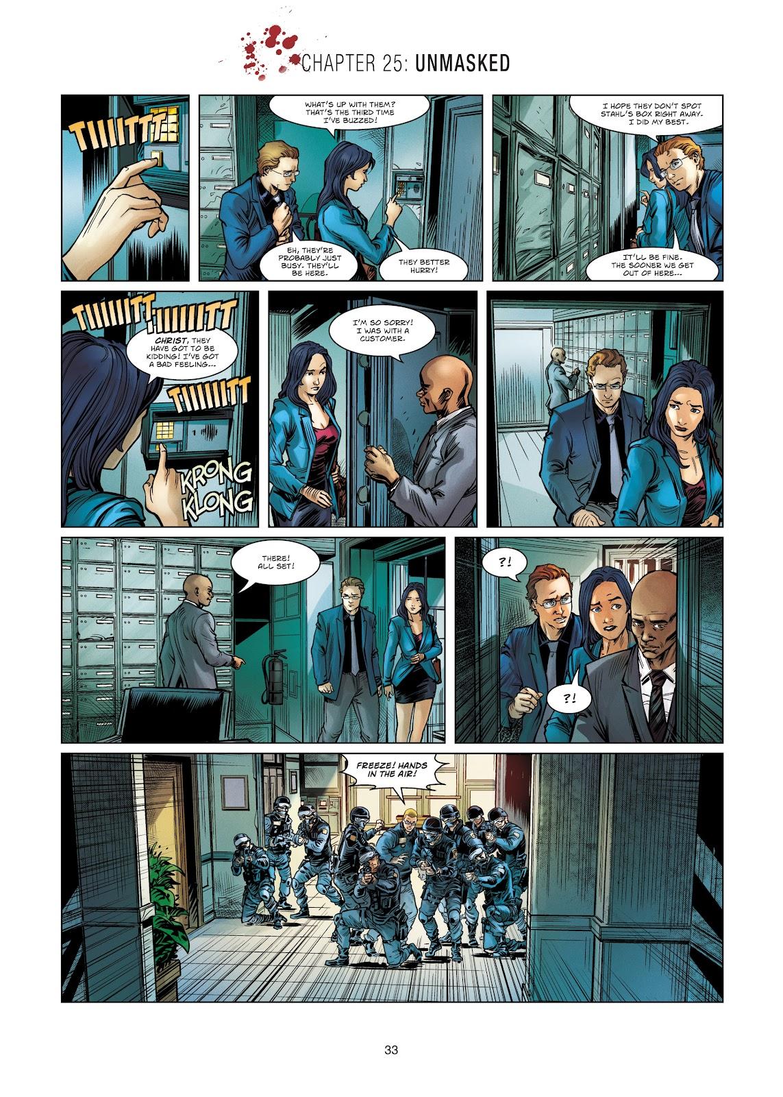 Read online Vigilantes comic -  Issue #4 - 33