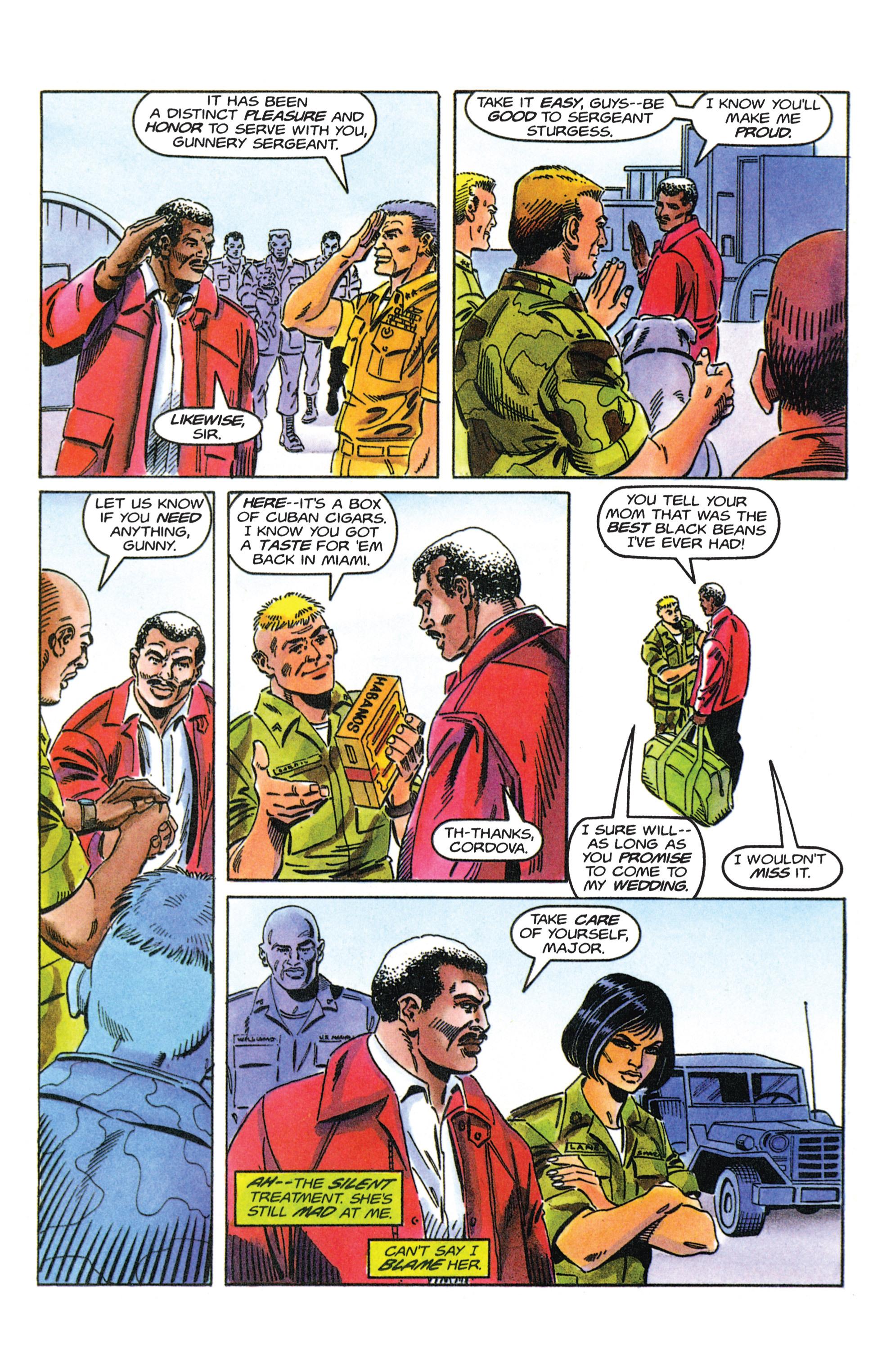 Read online Armorines comic -  Issue #12 - 21