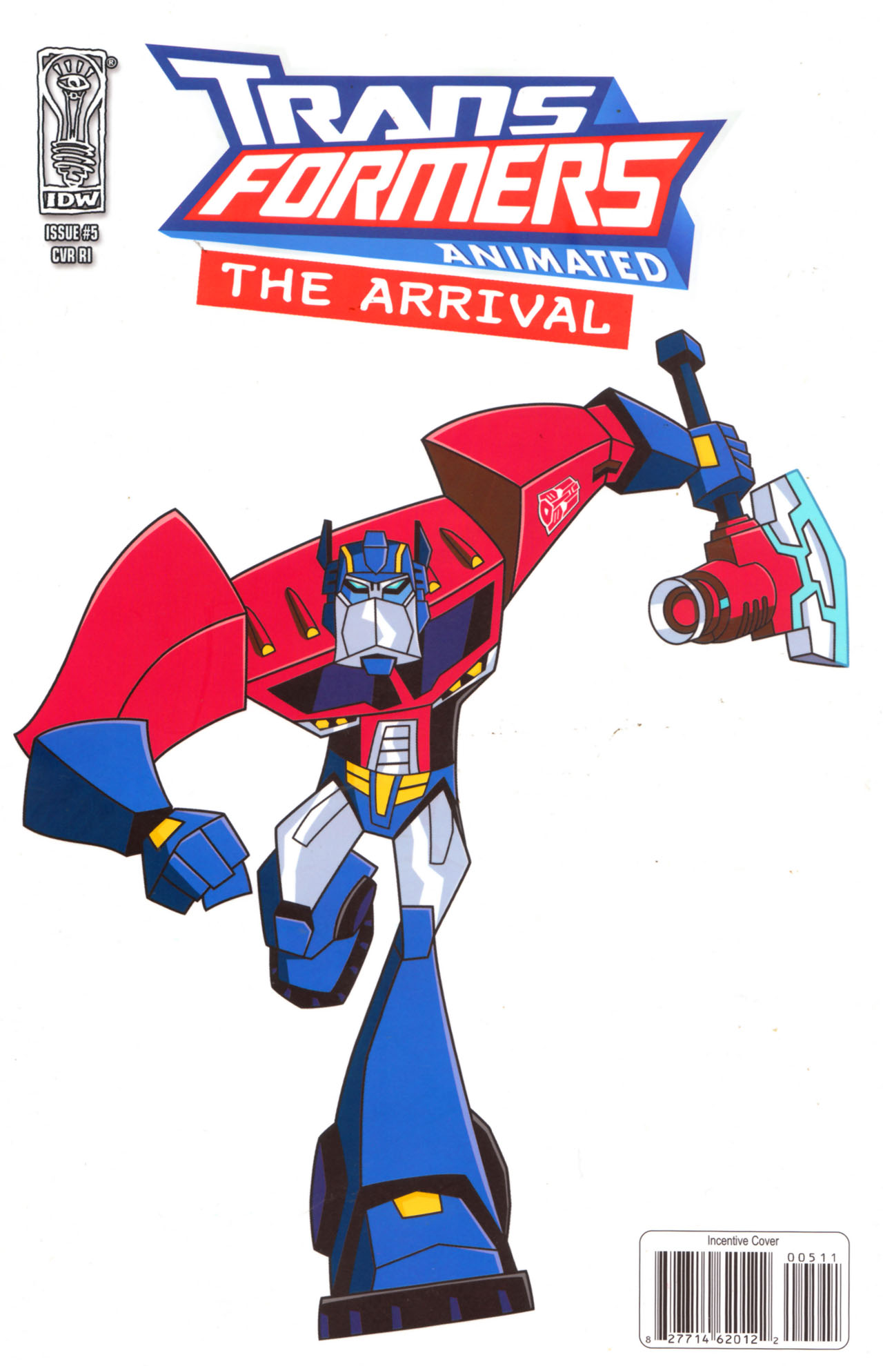 Read online Transformers Animated: The Arrival comic -  Issue #5 - 1