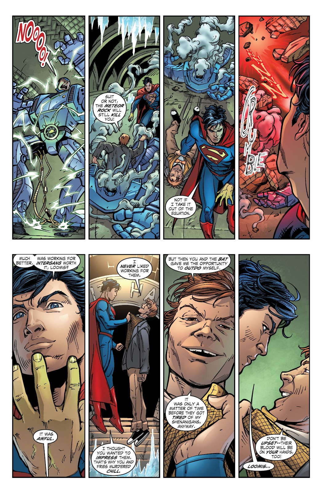 Read online Smallville Season 11 [II] comic -  Issue # TPB 2 - 121