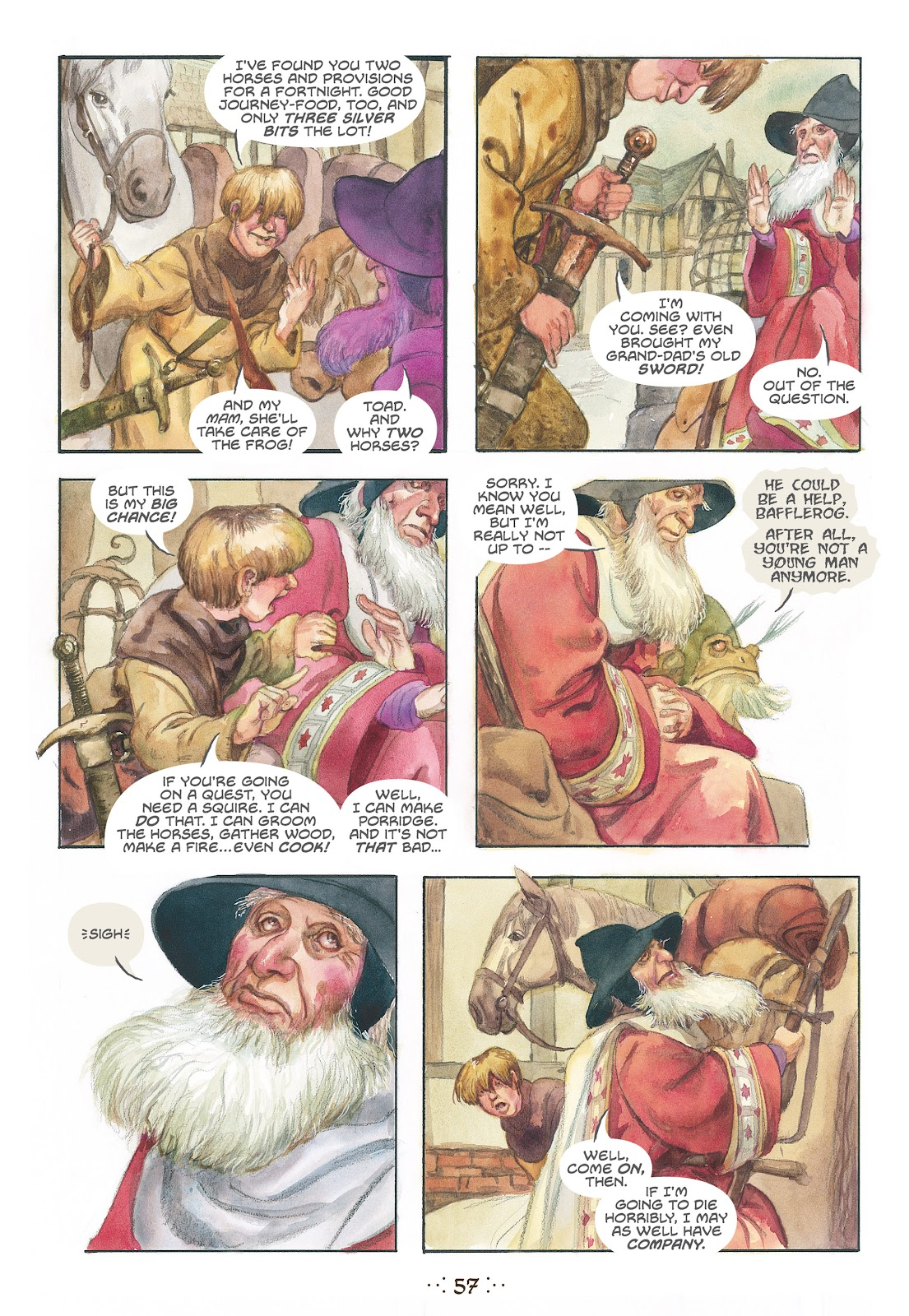 Read online The Wizard's Tale comic -  Issue # TPB - 54