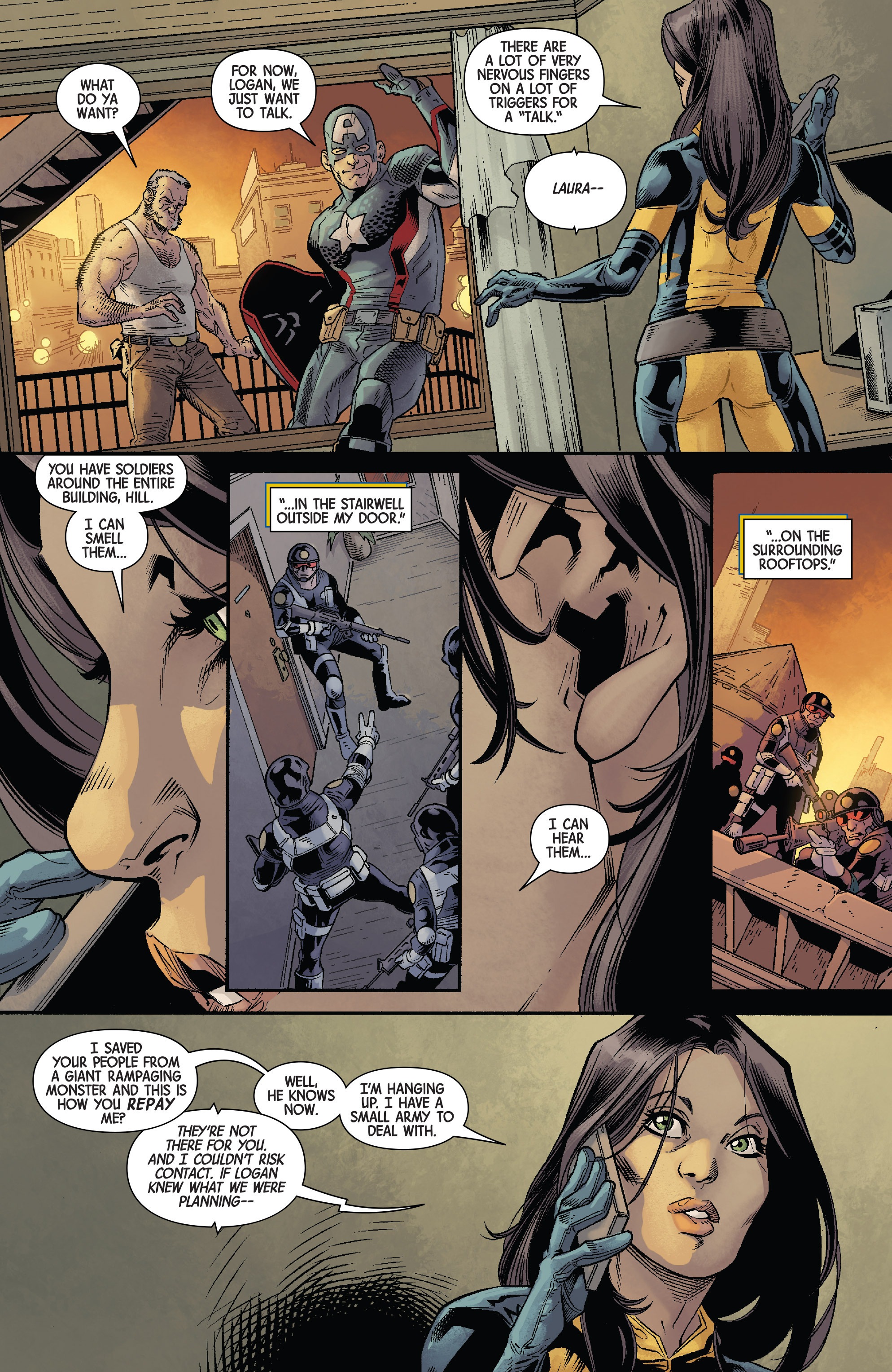 Read online All-New Wolverine (2016) comic -  Issue #11 - 4