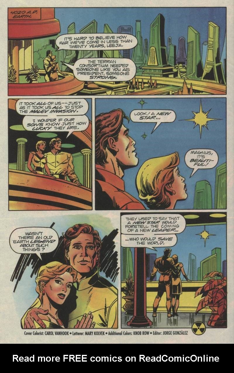 Read online Solar, Man of the Atom comic -  Issue #35 - 21