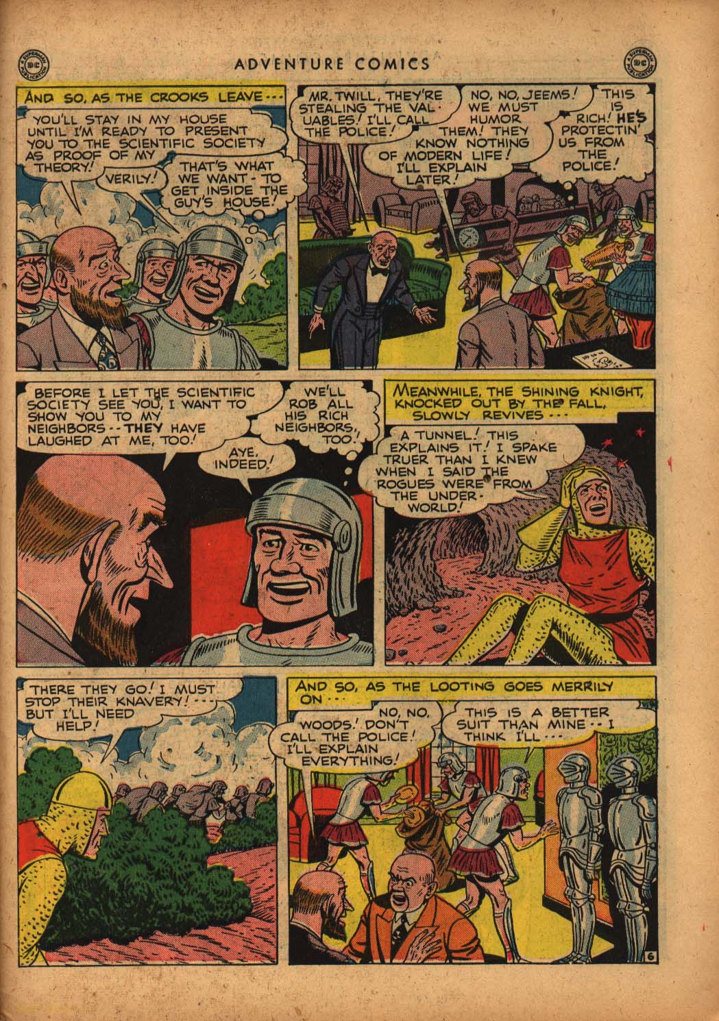 Read online Adventure Comics (1938) comic -  Issue #109 - 39