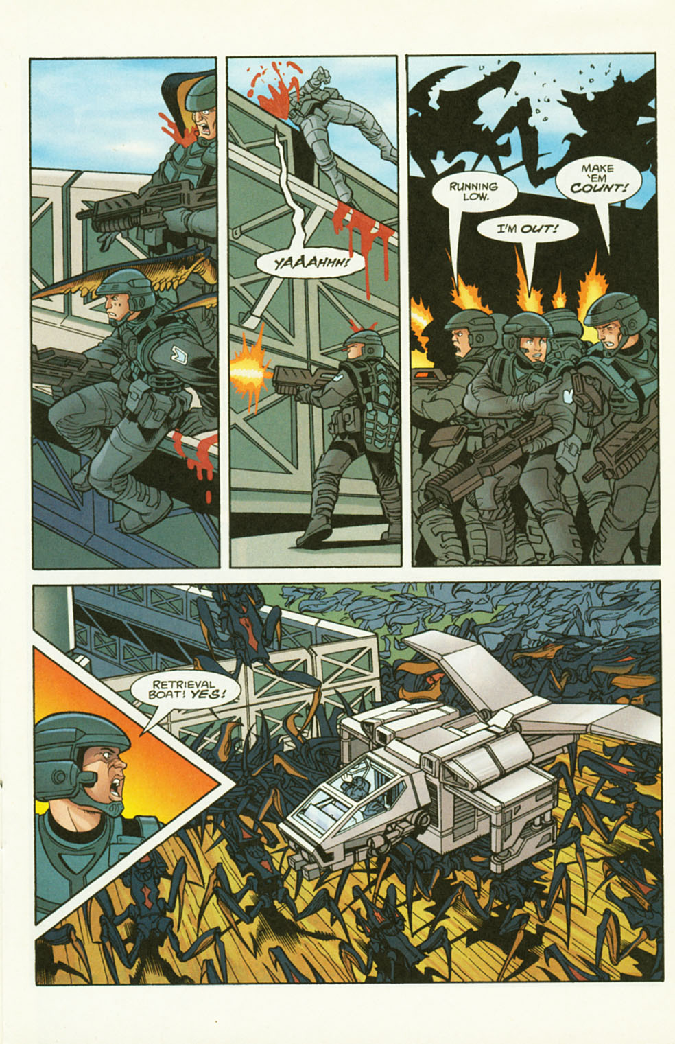 Read online Starship Troopers comic -  Issue #2 - 13