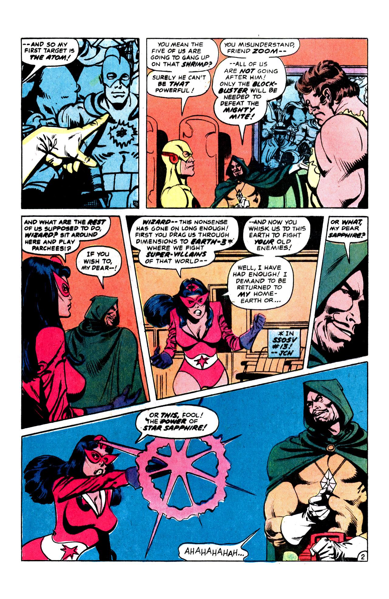 Read online Secret Society of Super-Villains comic -  Issue #15 - 4
