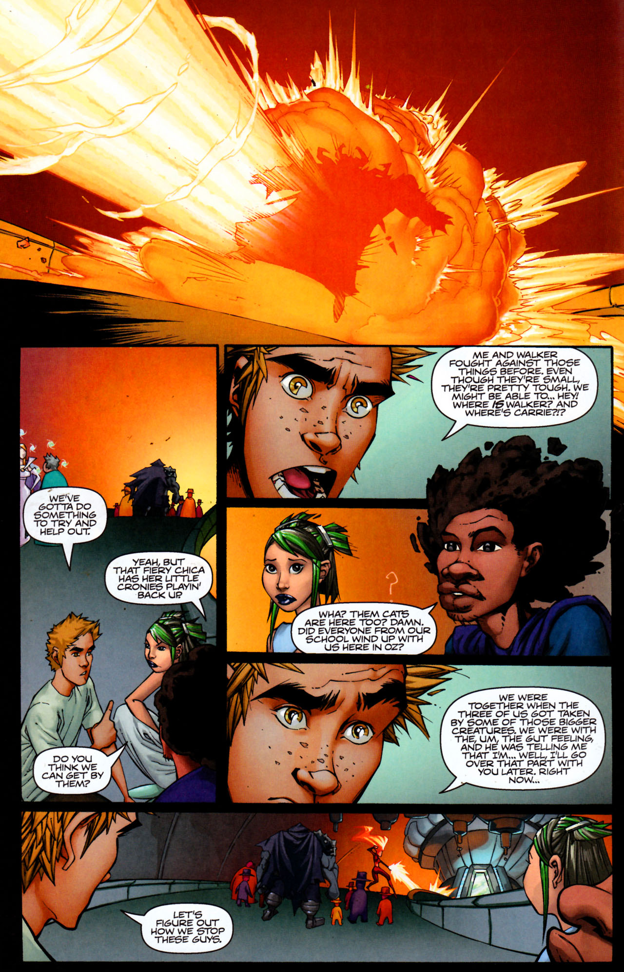 Read online Shrugged (2006) comic -  Issue #8 - 16