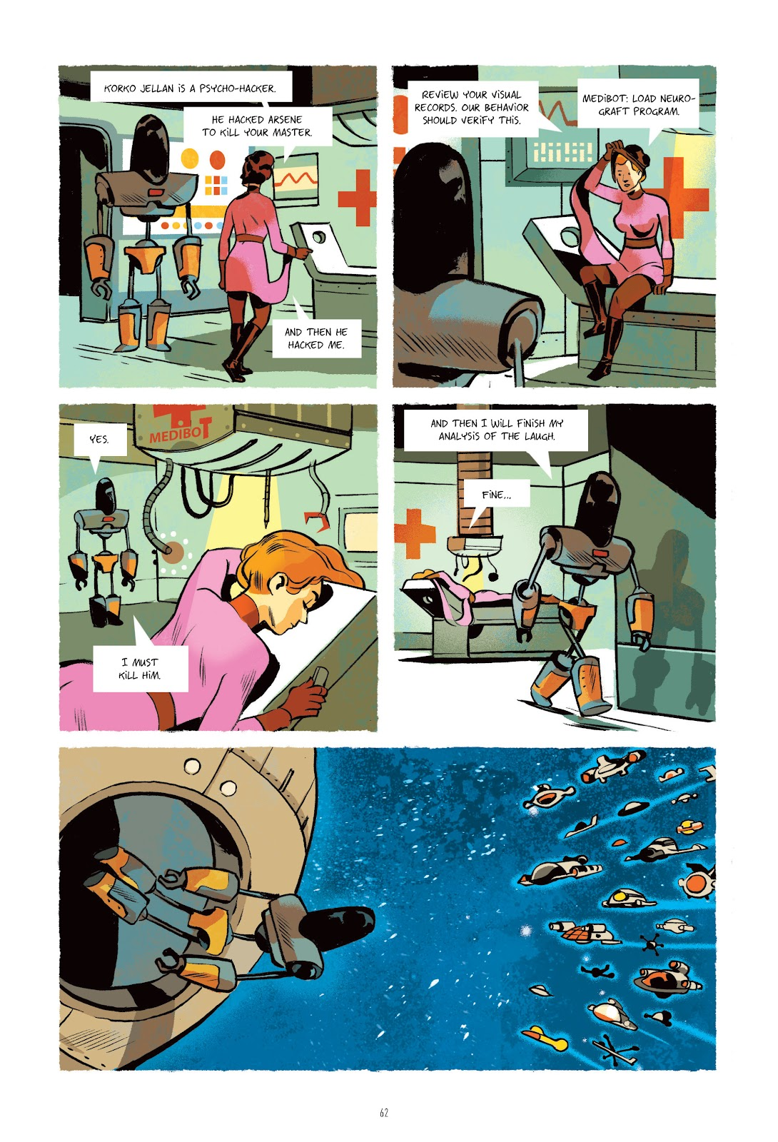 Read online Infinity 8 comic -  Issue # _TPB 3 - 62