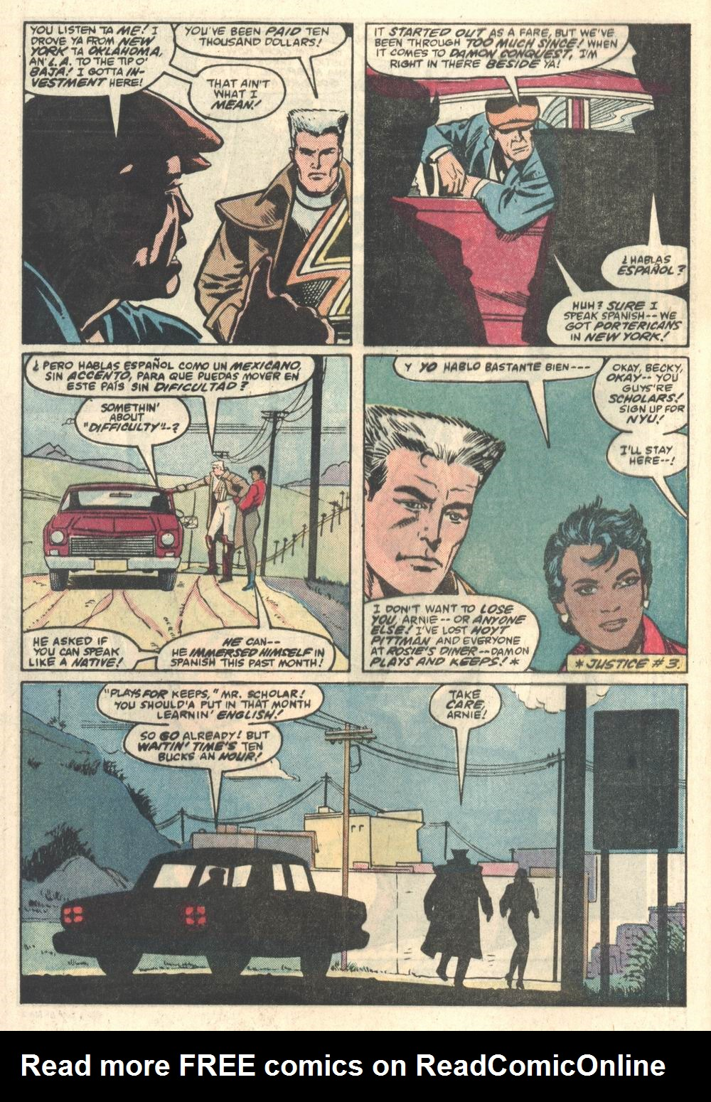Read online Justice (1986) comic -  Issue #5 - 3