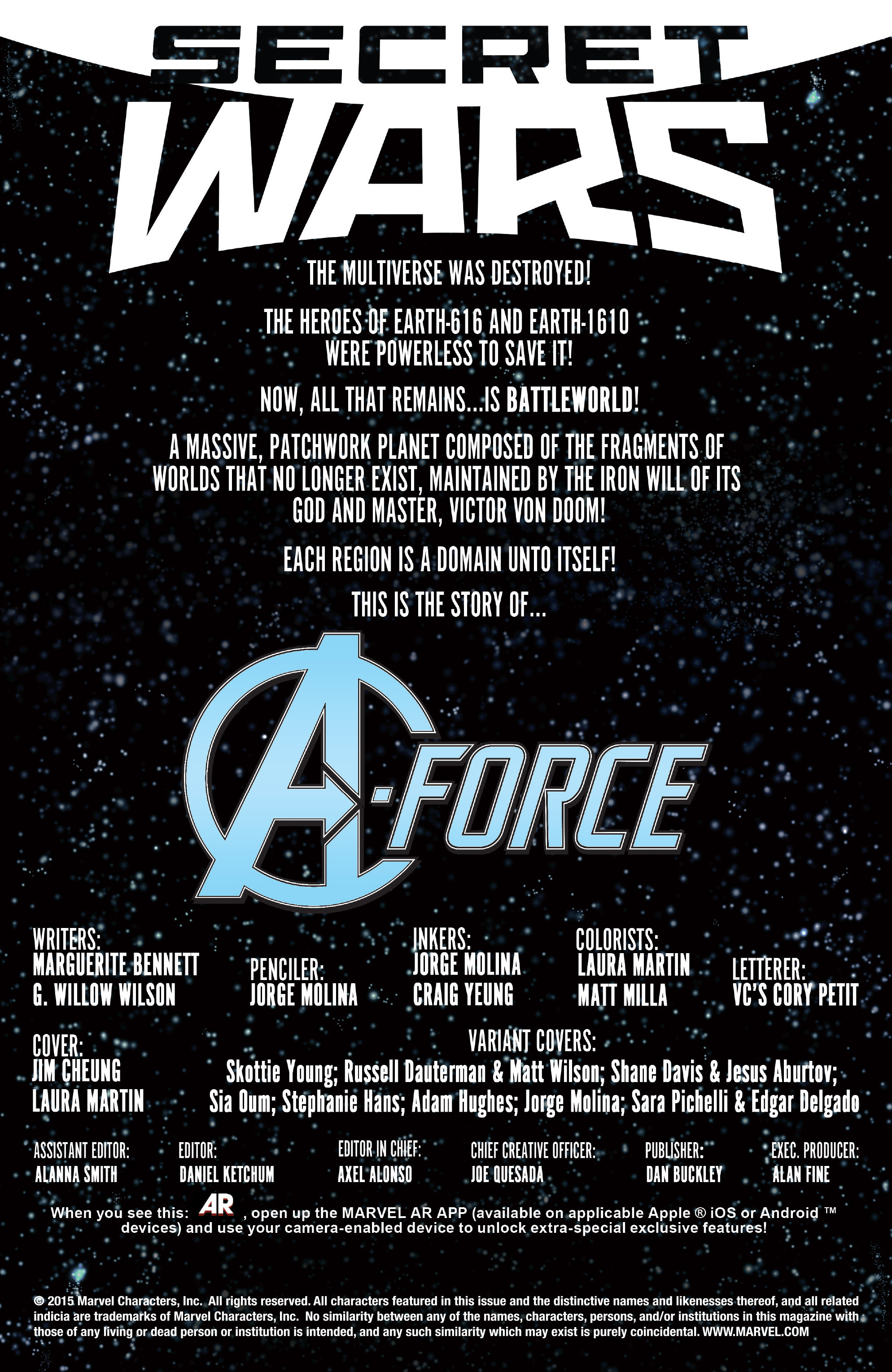 Read online A-Force (2015) comic -  Issue #1 - 4