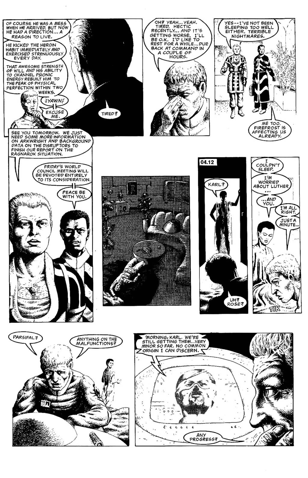 Read online The Adventures of Luther Arkwright comic -  Issue #5 - 13
