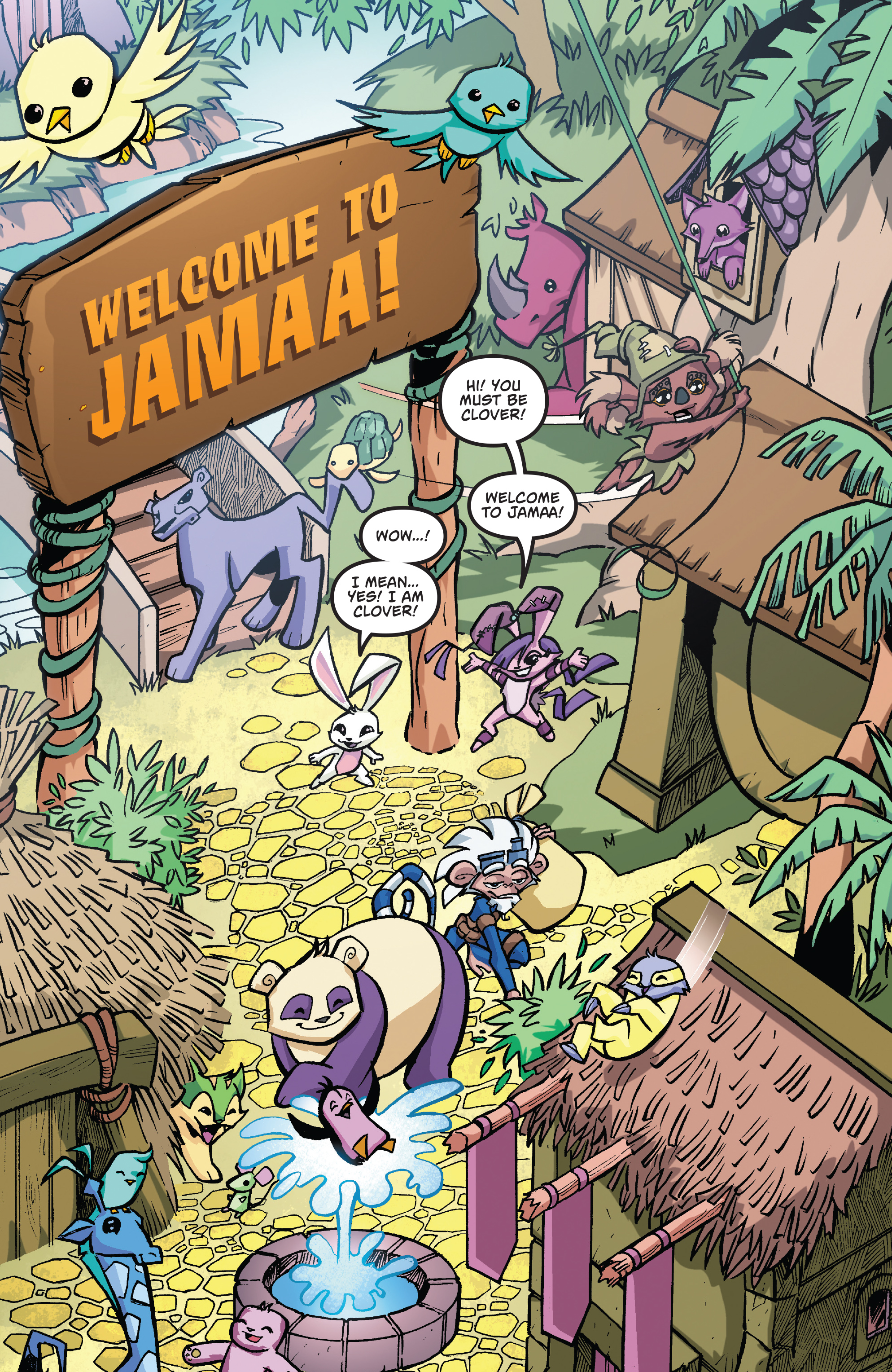 Read online Free Comic Book Day 2017 comic -  Issue # Animal Jam - 3