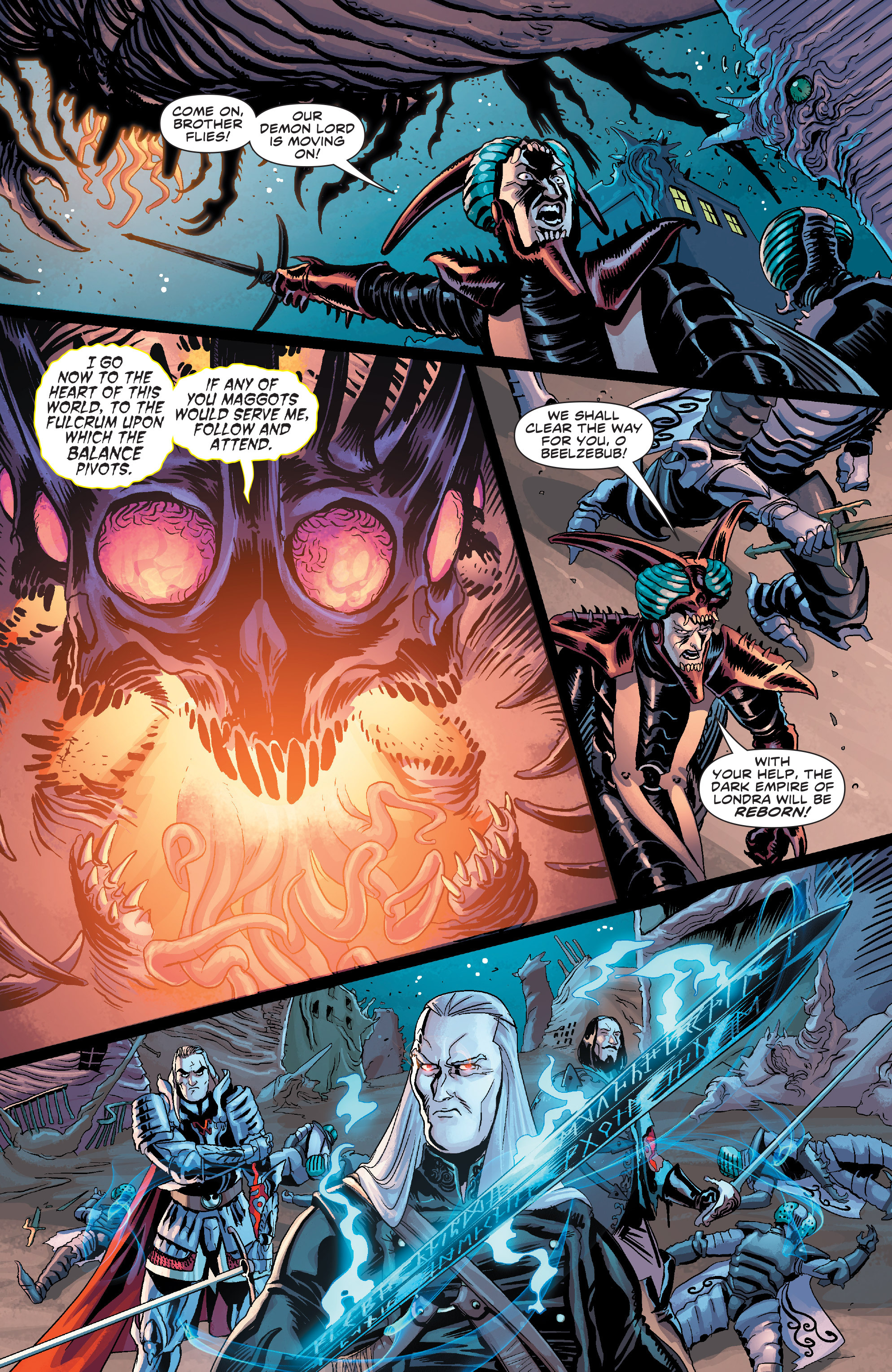 Read online Elric: The Balance Lost comic -  Issue # TPB 2 - 21