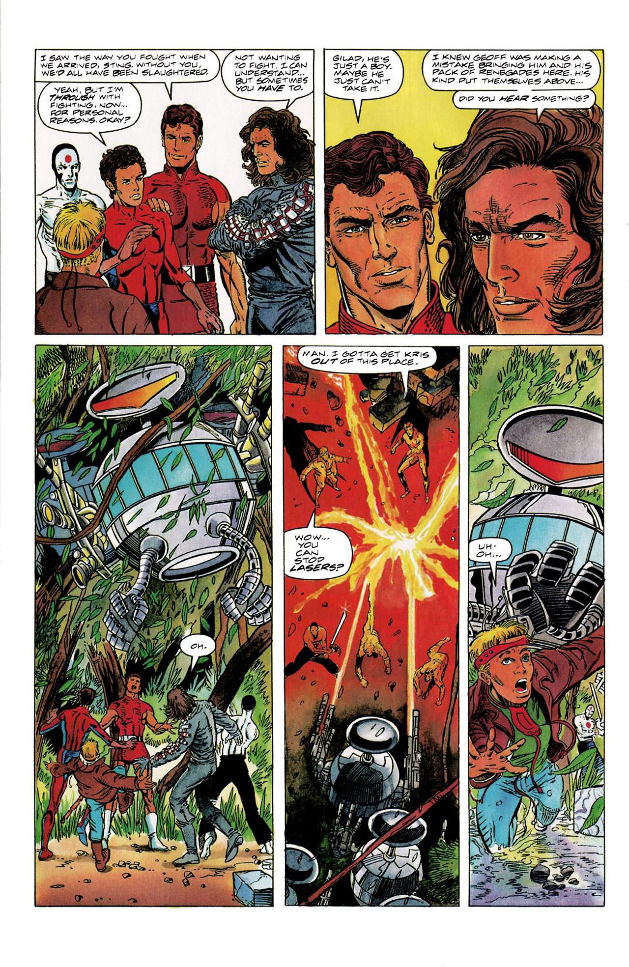 Read online Harbinger (1992) comic -  Issue #8 - 12