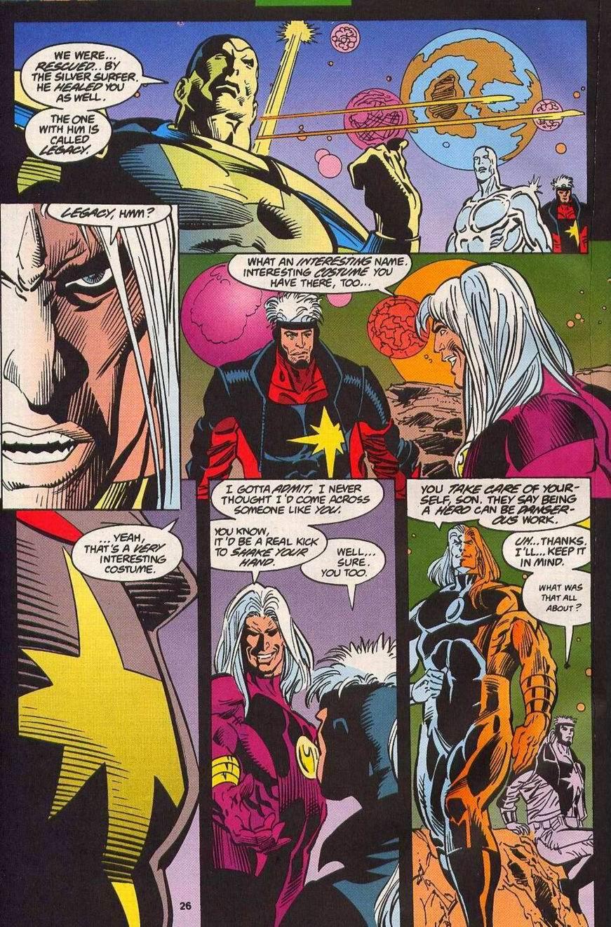 Read online Secret Defenders comic -  Issue #14 - 19