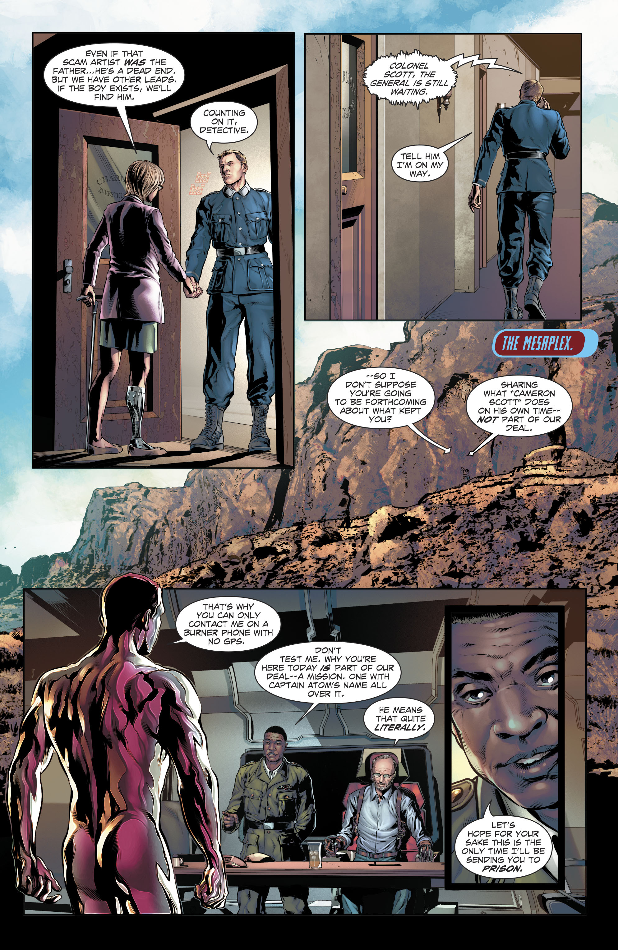 Read online The Fall and Rise of Captain Atom comic -  Issue #4 - 12
