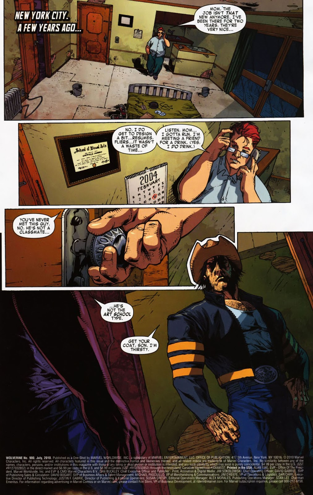 Read online Wolverine (2003) comic -  Issue #900 - 46