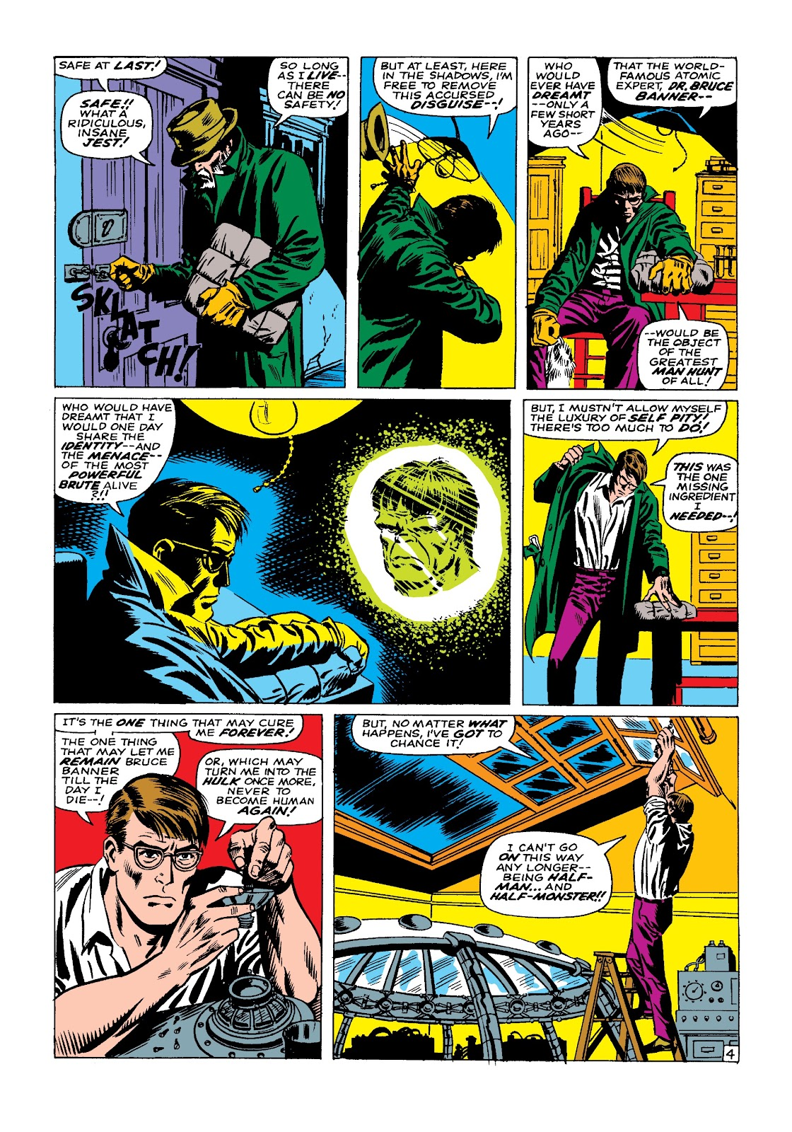 Read online Marvel Masterworks: The Incredible Hulk comic -  Issue # TPB 3 (Part 2) - 43