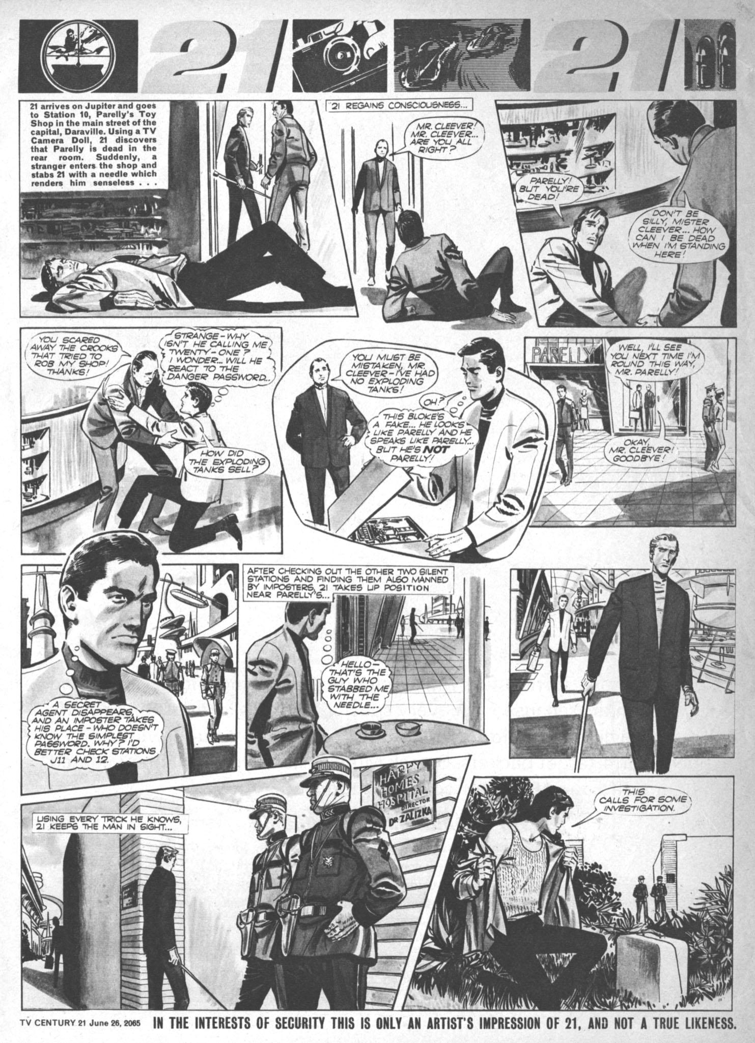Read online TV Century 21 (TV 21) comic -  Issue #23 - 7
