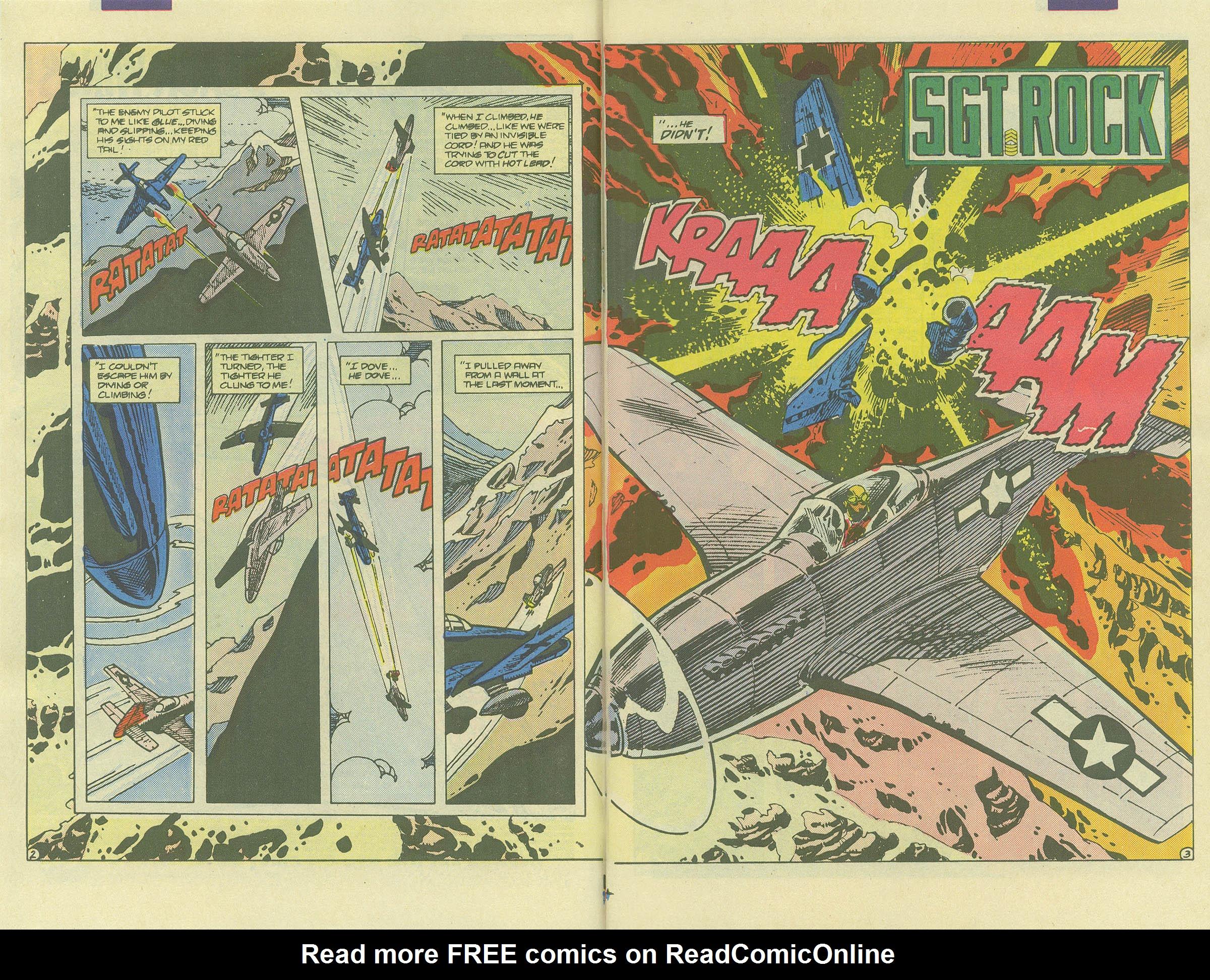 Read online Sgt. Rock comic -  Issue #406 - 4