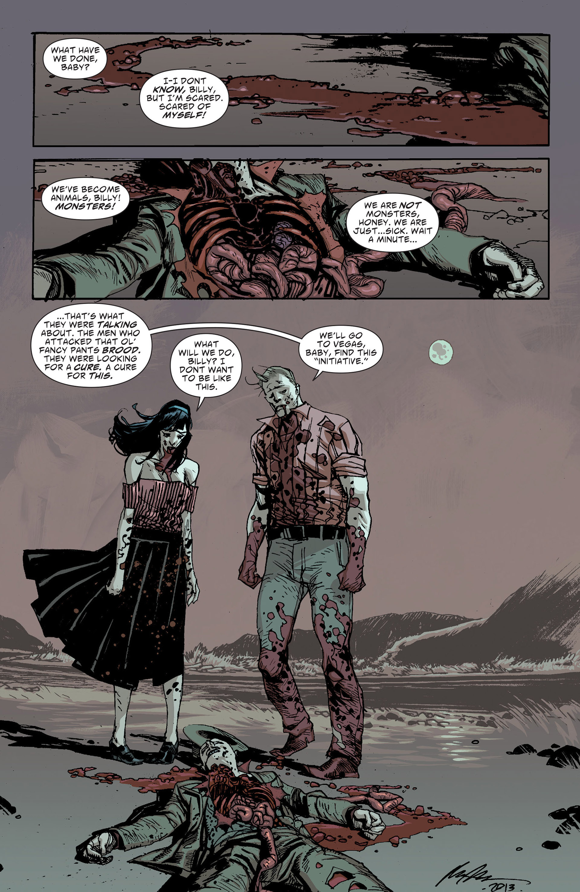 Read online American Vampire: The Long Road To Hell comic -  Issue # Full - 18
