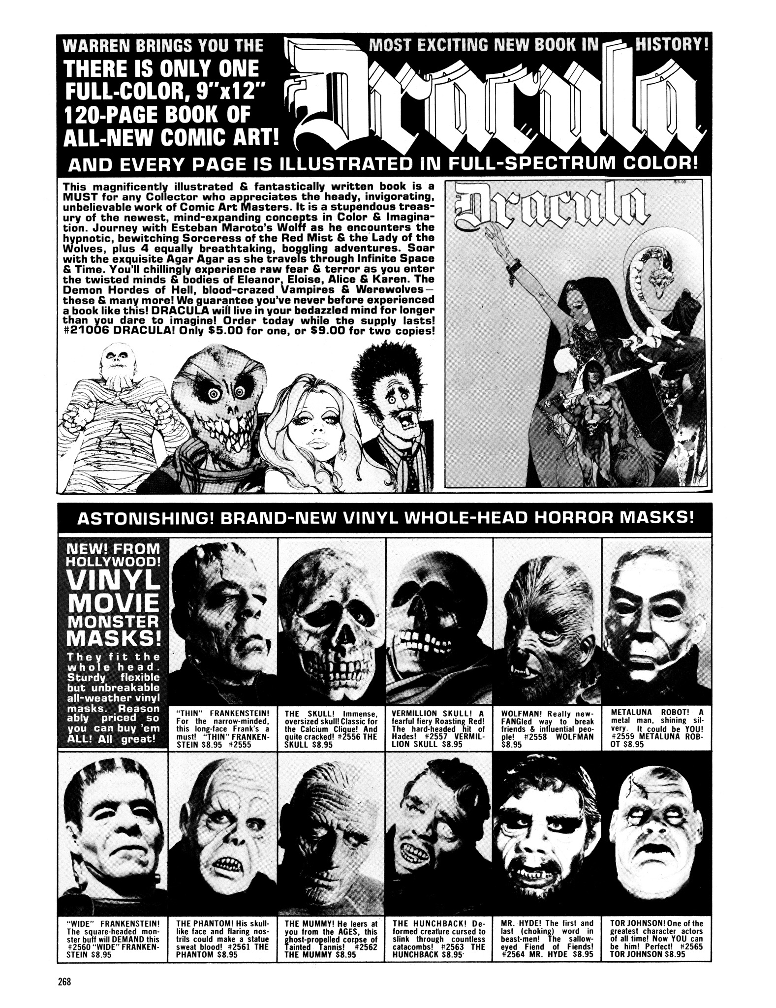 Read online Eerie Archives comic -  Issue # TPB 14 - 269