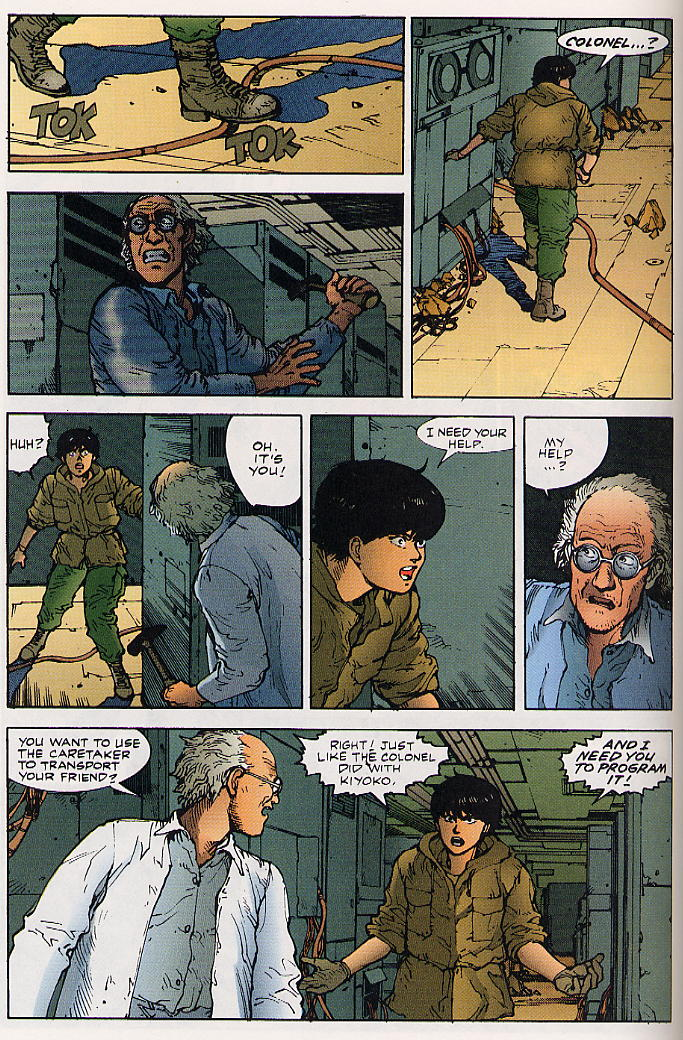 Read online Akira comic -  Issue #25 - 63
