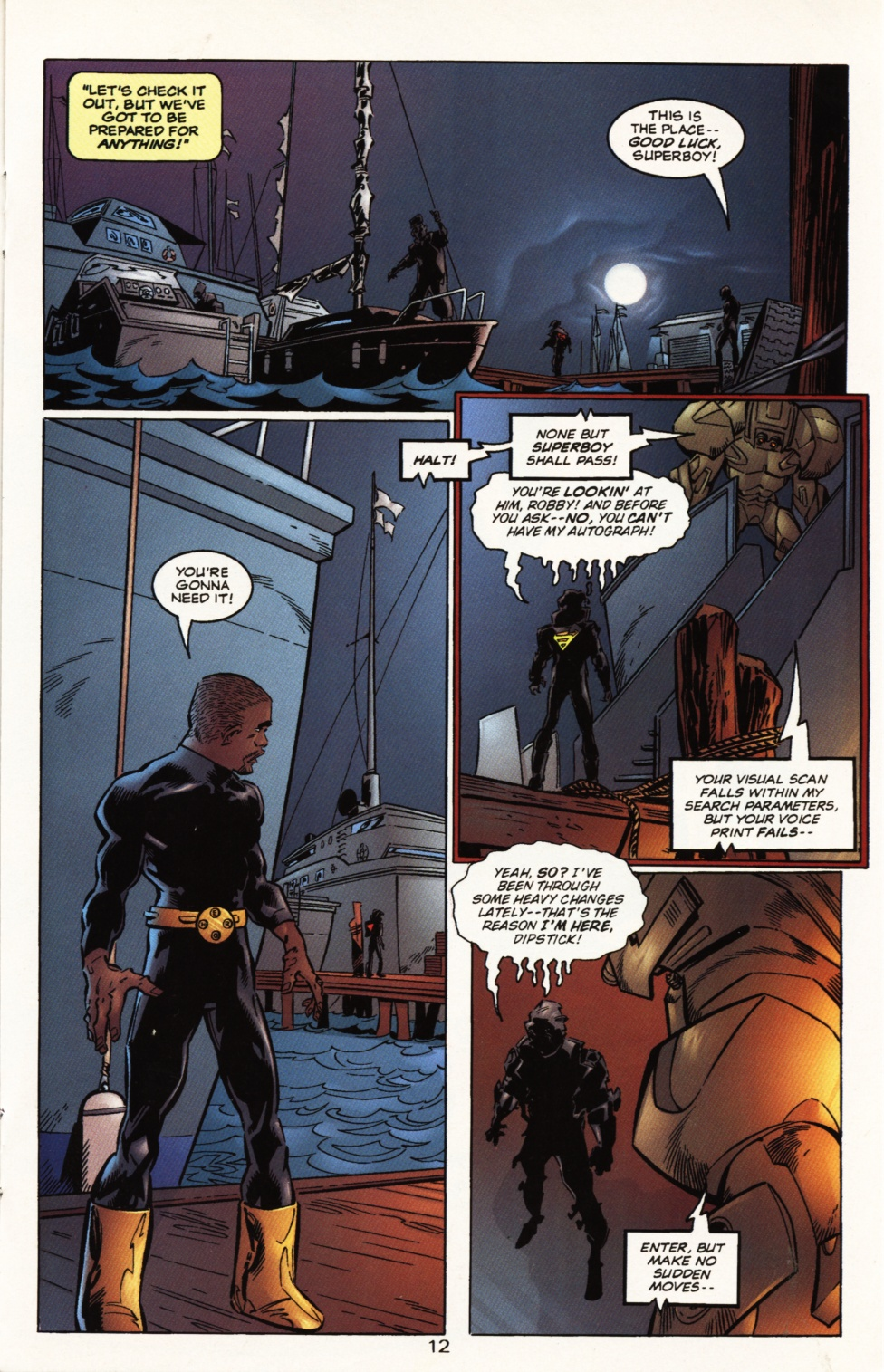 Read online Superboy & The Ravers comic -  Issue #10 - 12