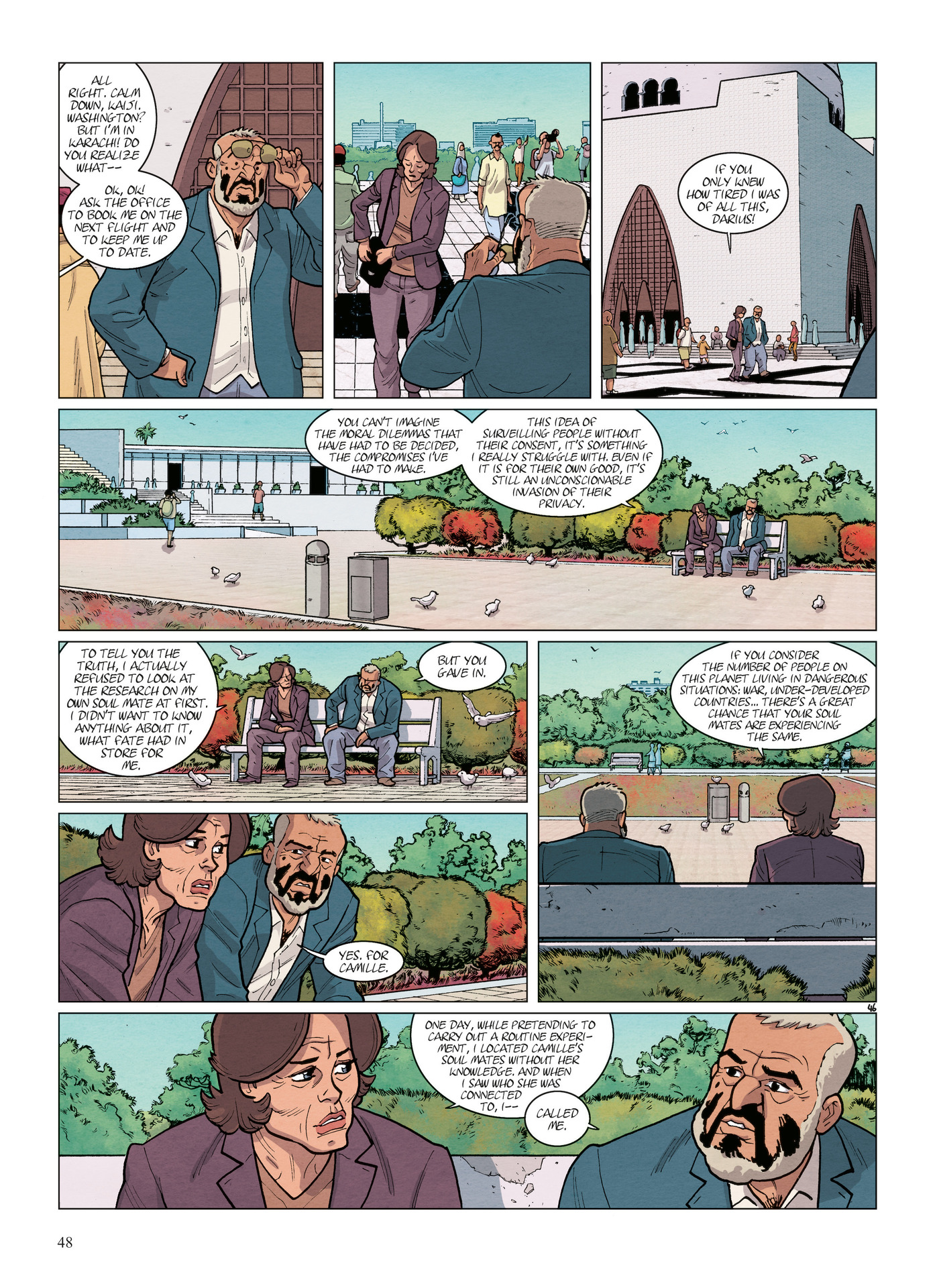 Read online Alter Ego comic -  Issue #6 - 50