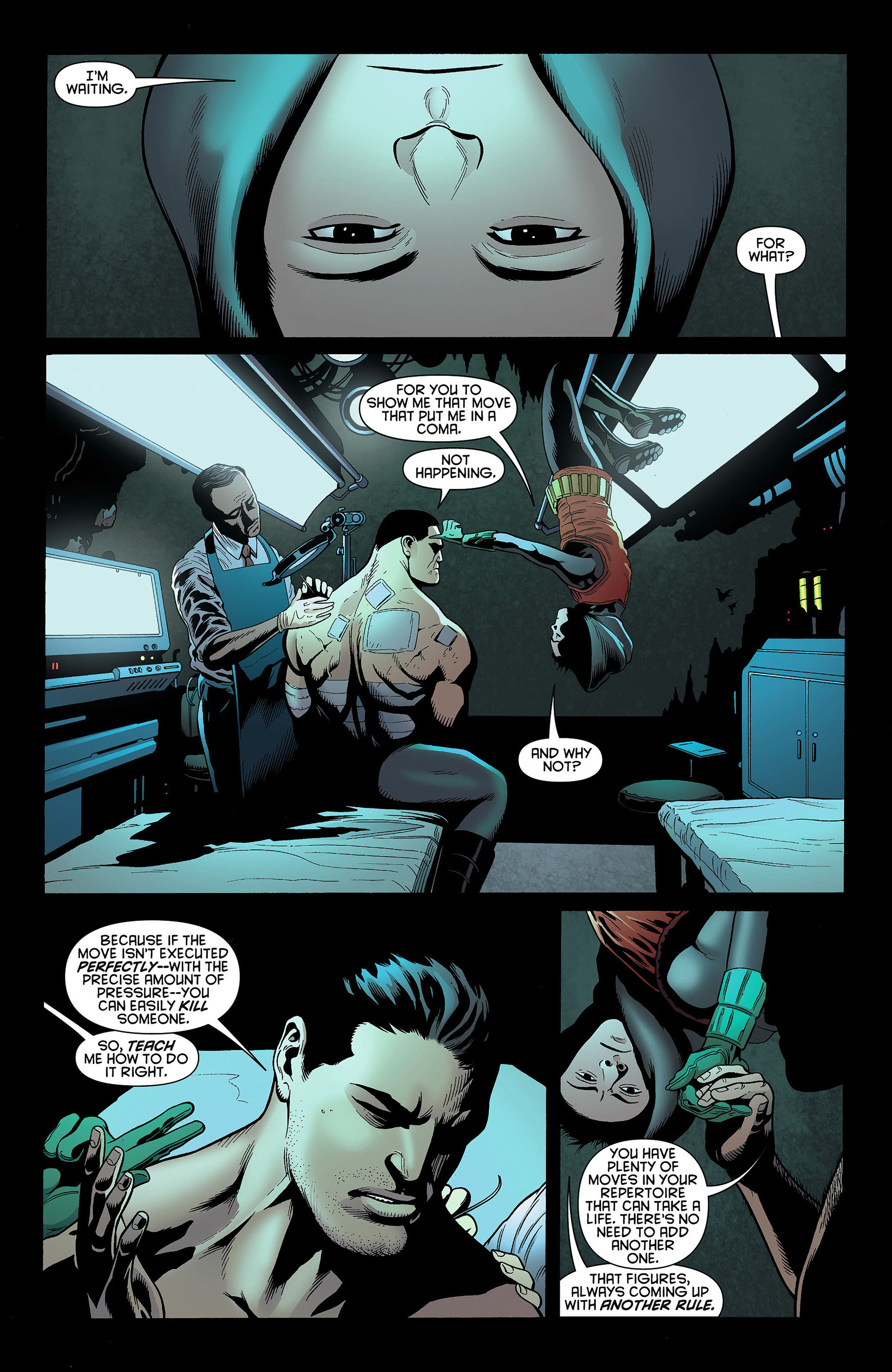 Read online Batman and Robin (2011) comic -  Issue #4 - 13
