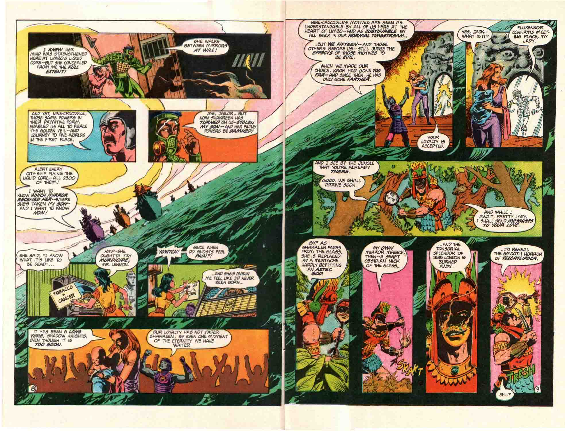 Read online Aztec Ace comic -  Issue #10 - 8