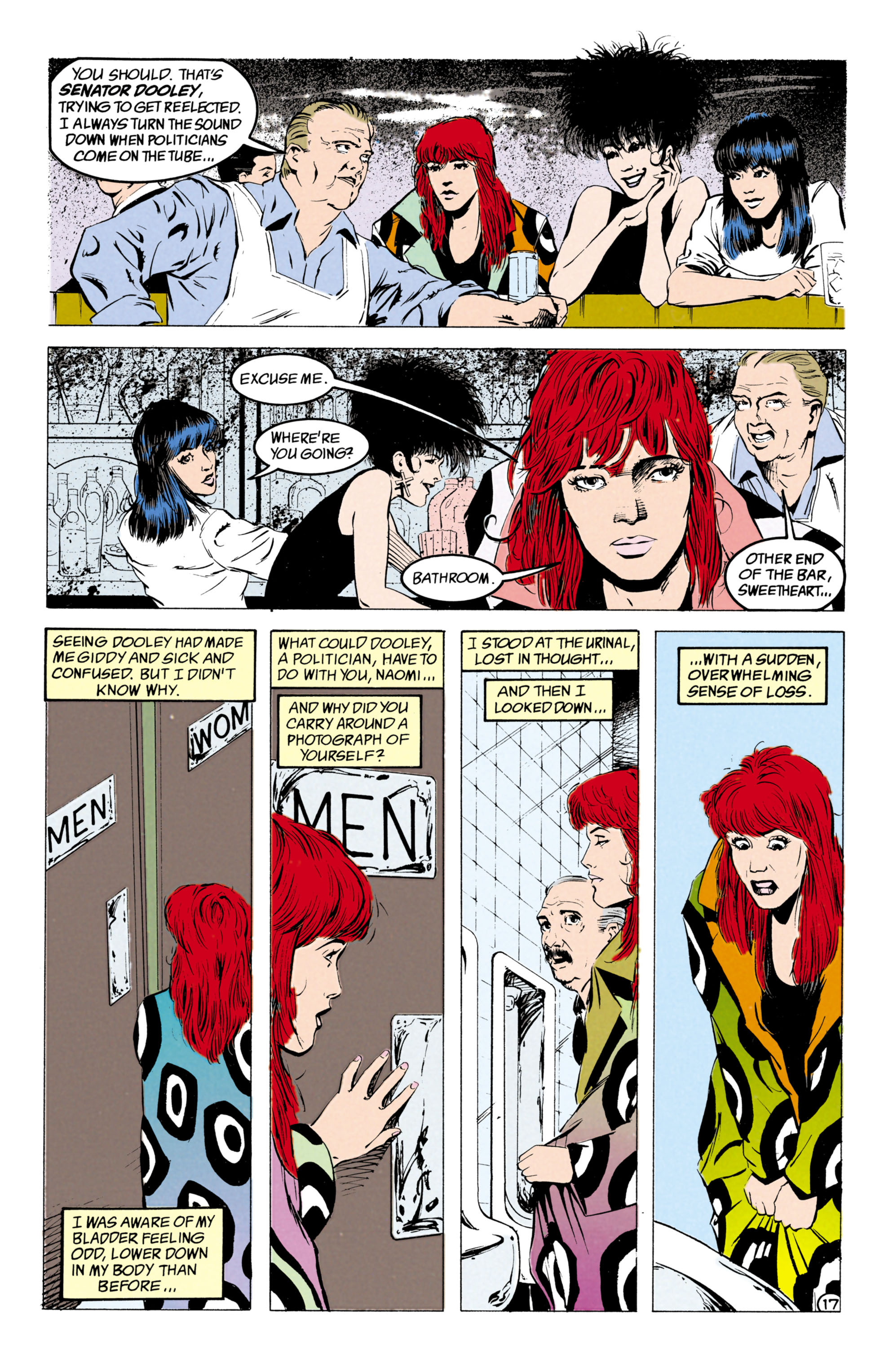 Read online Shade, the Changing Man comic -  Issue #27 - 18