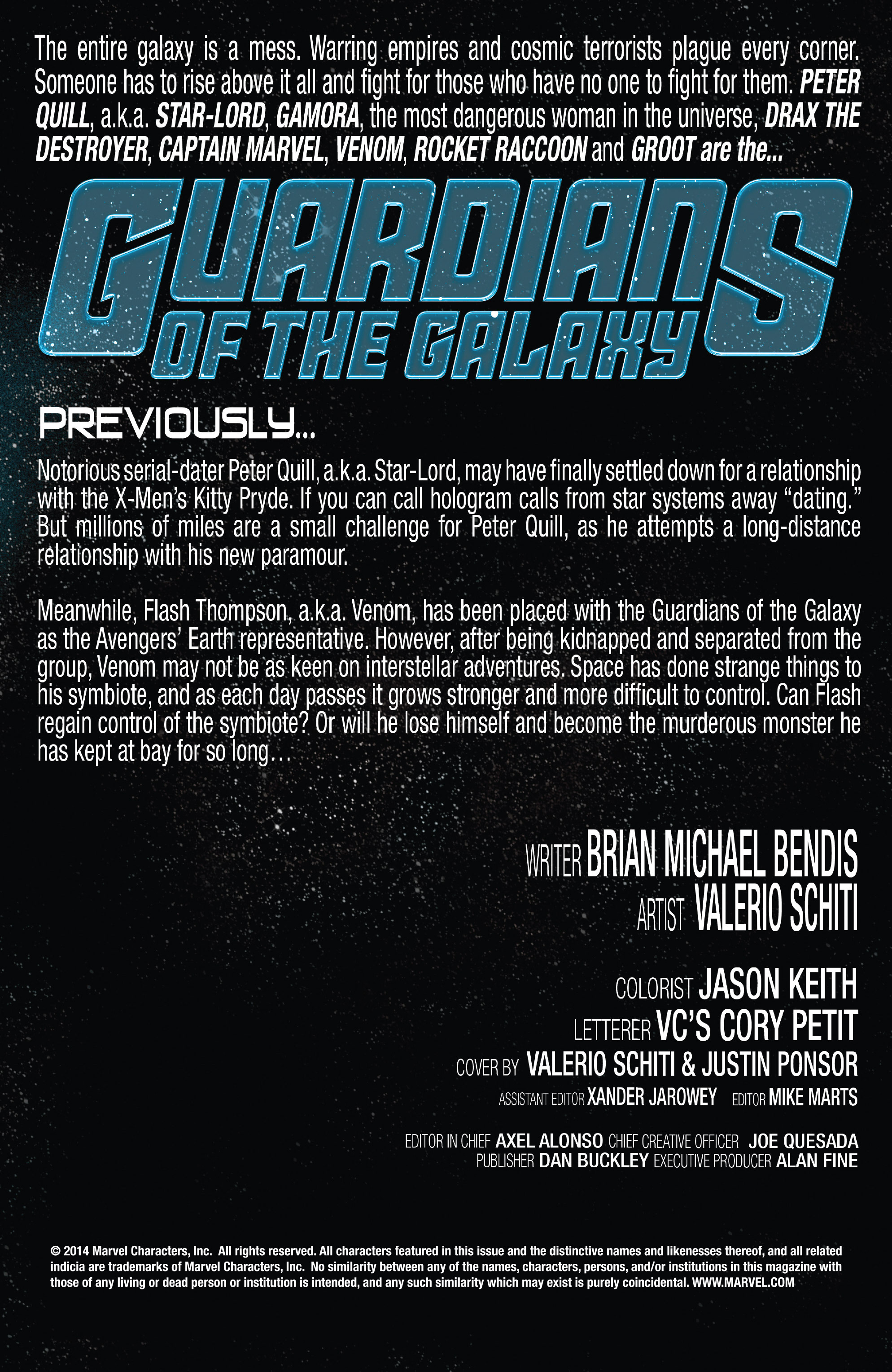 Guardians of the Galaxy (2013) 21 Page 2