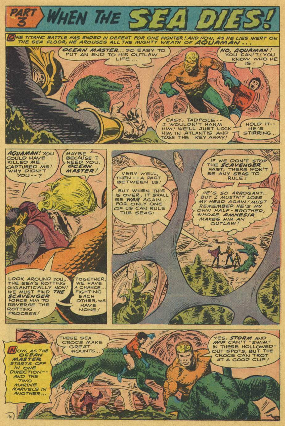 Read online Aquaman (1962) comic -  Issue #37 - 24