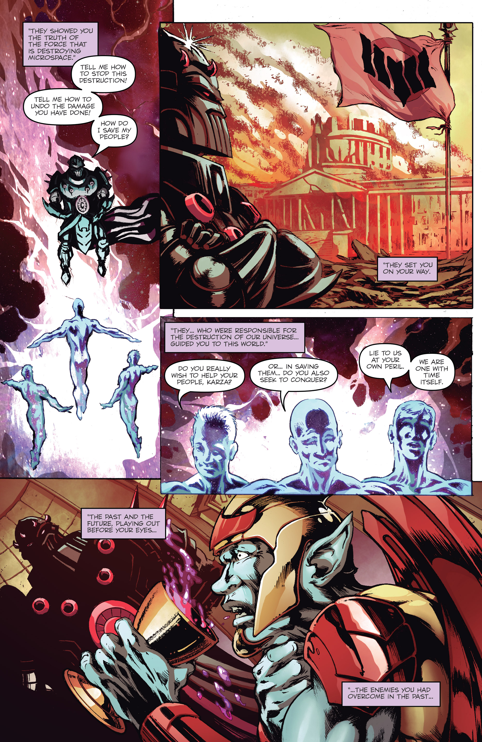 Read online Micronauts: Wrath of Karza comic -  Issue #2 - 18