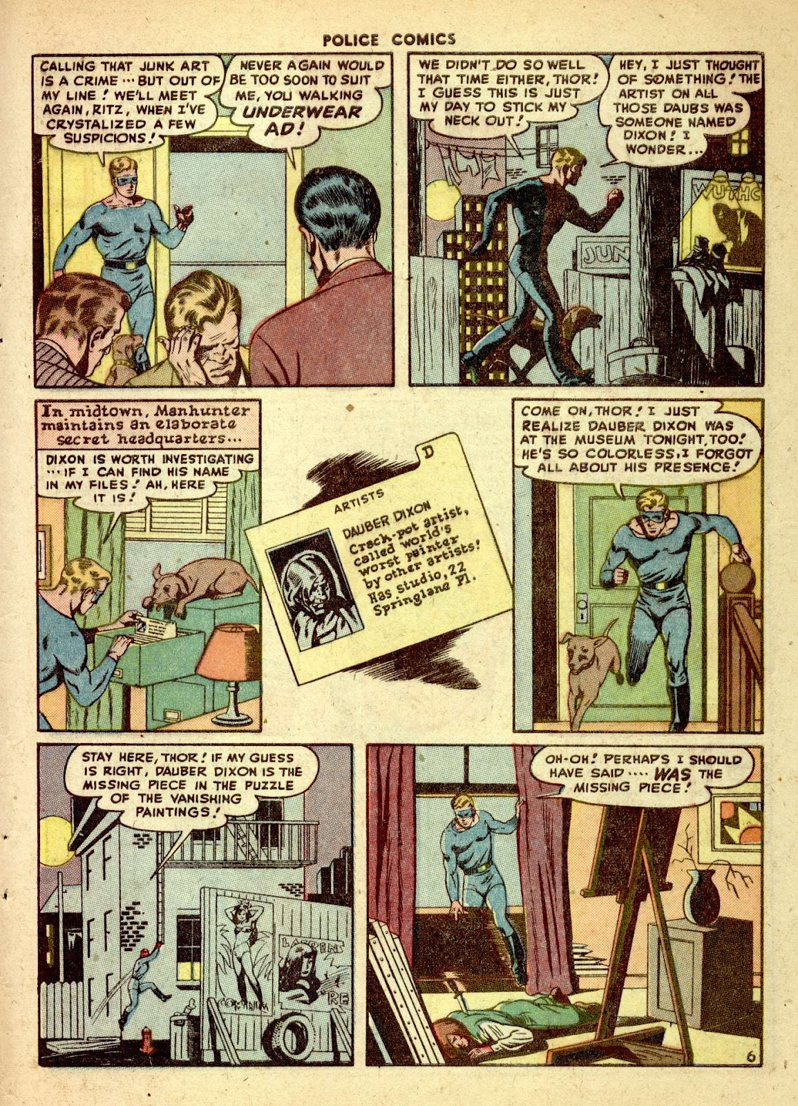 Police Comics issue 76 - Page 47
