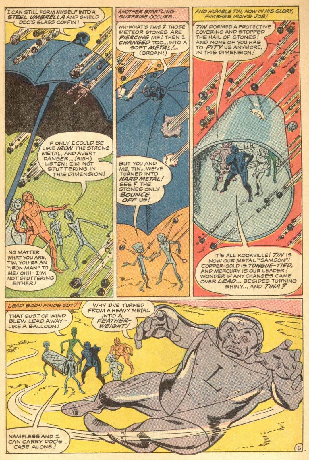 Metal Men (1963) issue 30 - Page 7