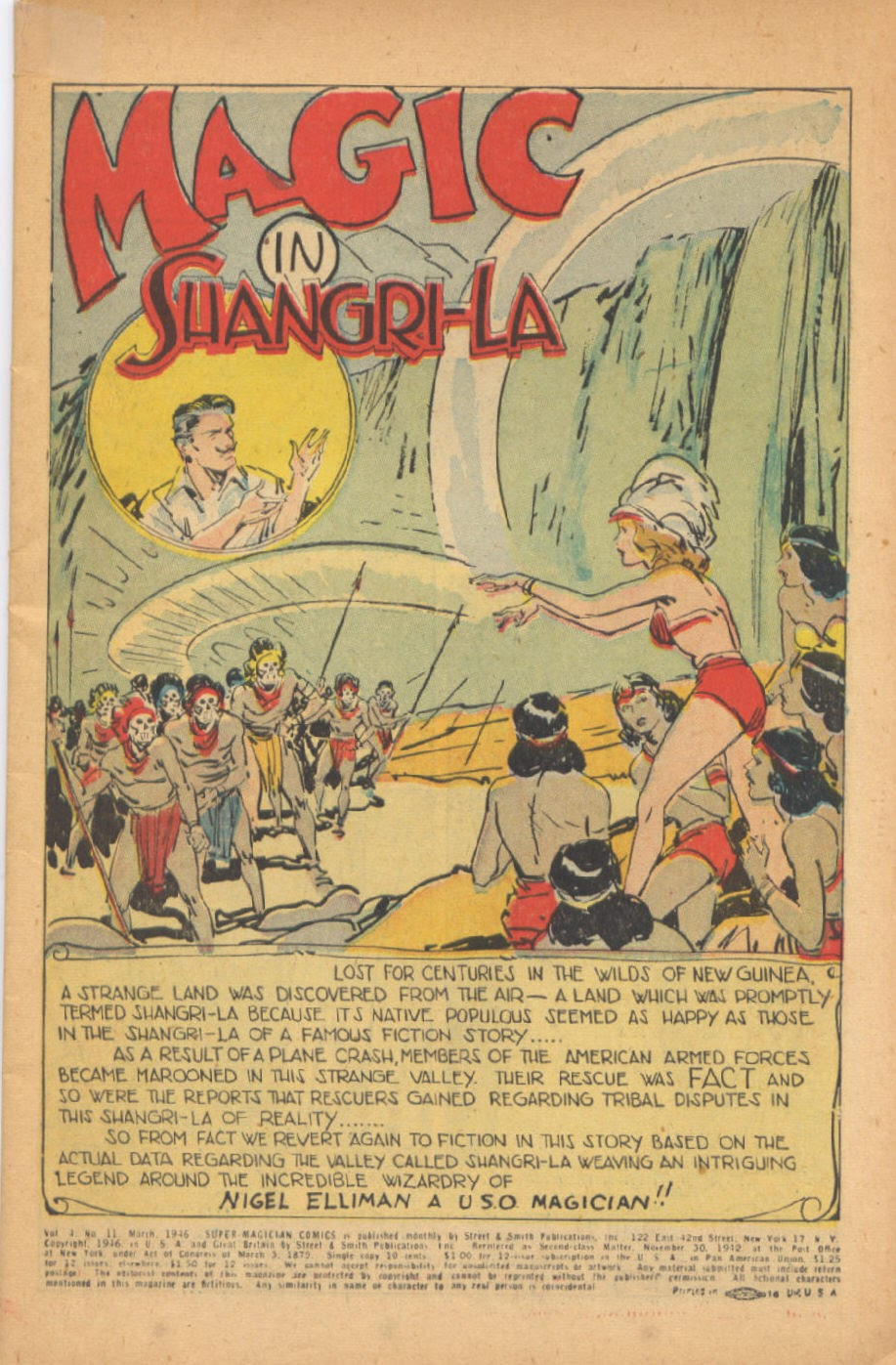 Read online Super-Magician Comics comic -  Issue #47 - 3