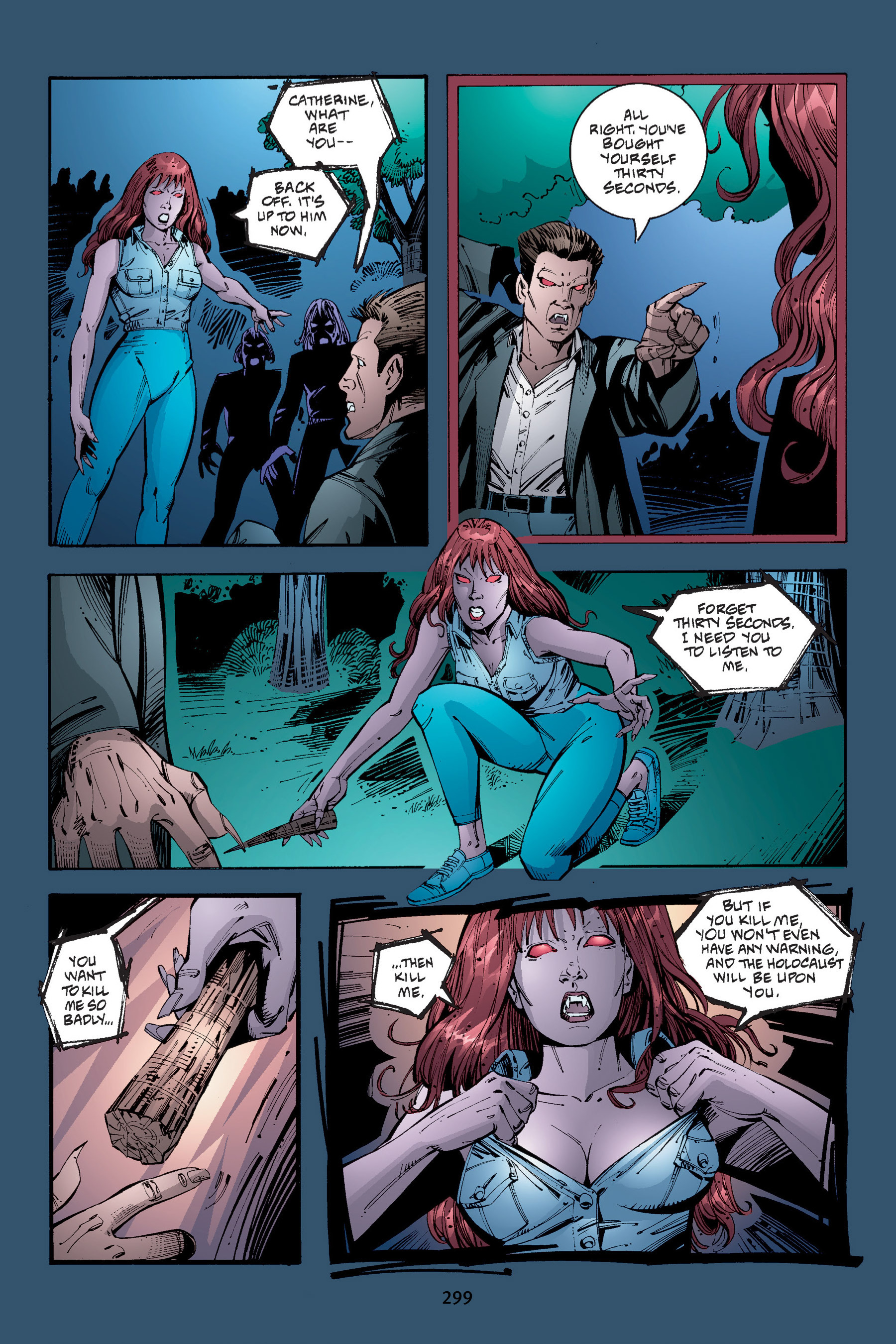 Read online Buffy the Vampire Slayer: Omnibus comic -  Issue # TPB 4 - 296