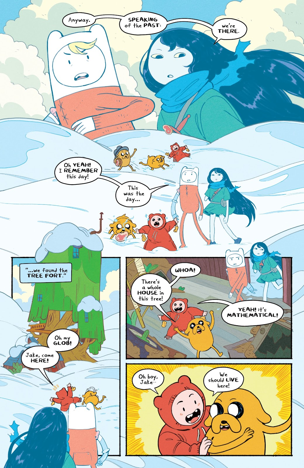 Read online Adventure Time: Beginning of the End comic -  Issue # _TPB - 21