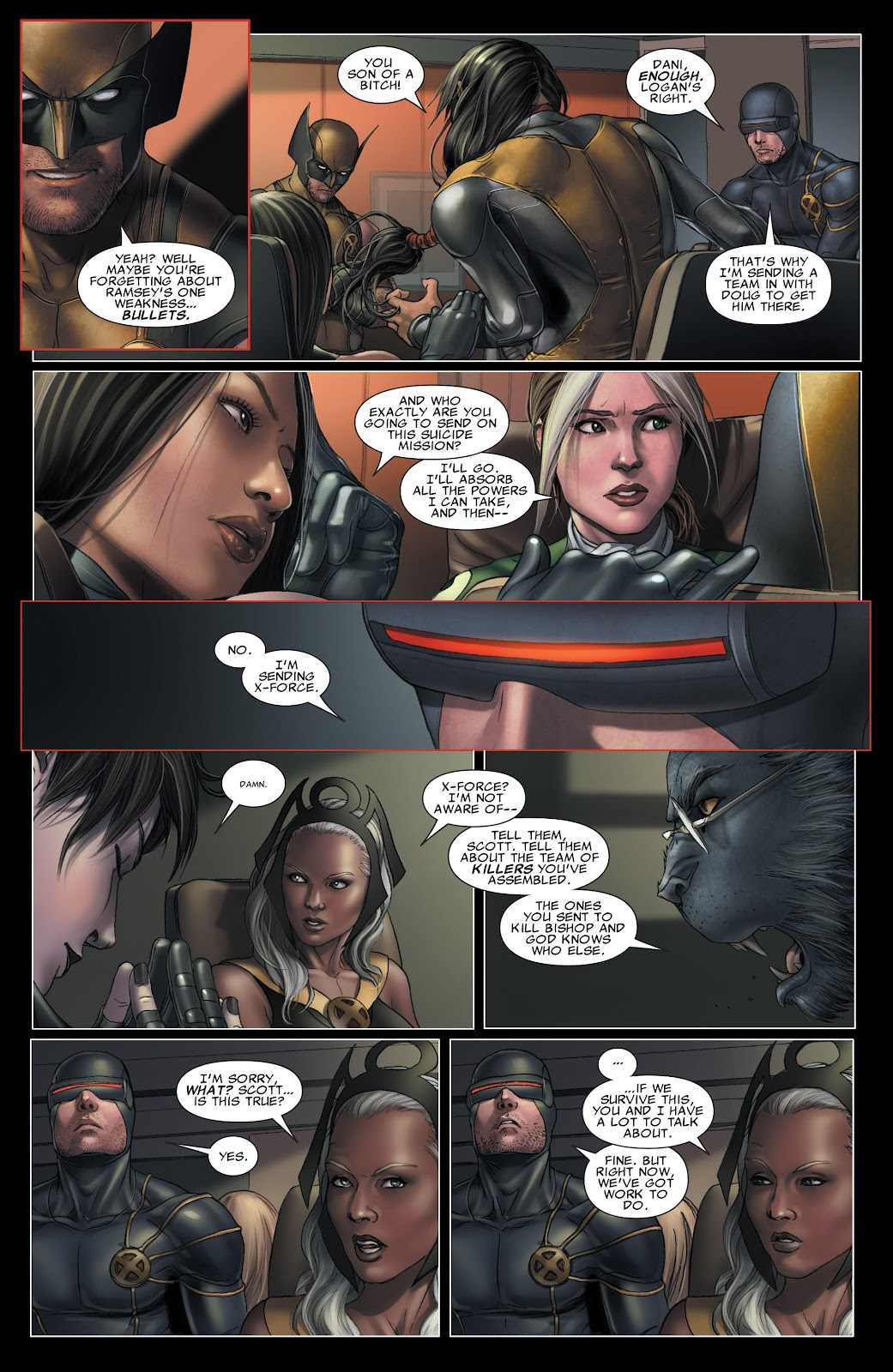 Read online X-Men: Second Coming comic -  Issue # _TPB (Part 3) - 22