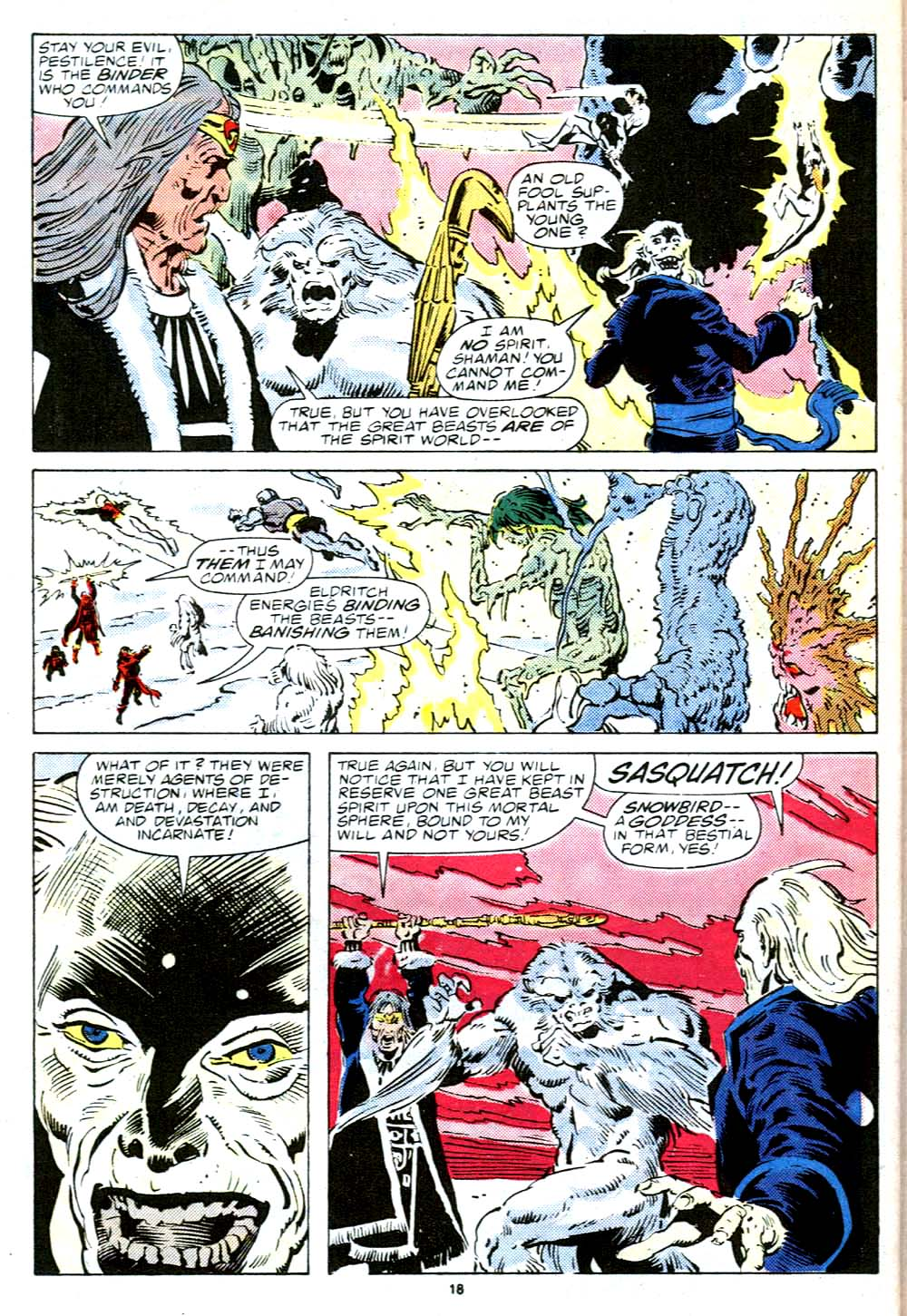 Read online Alpha Flight (1983) comic -  Issue #38 - 19