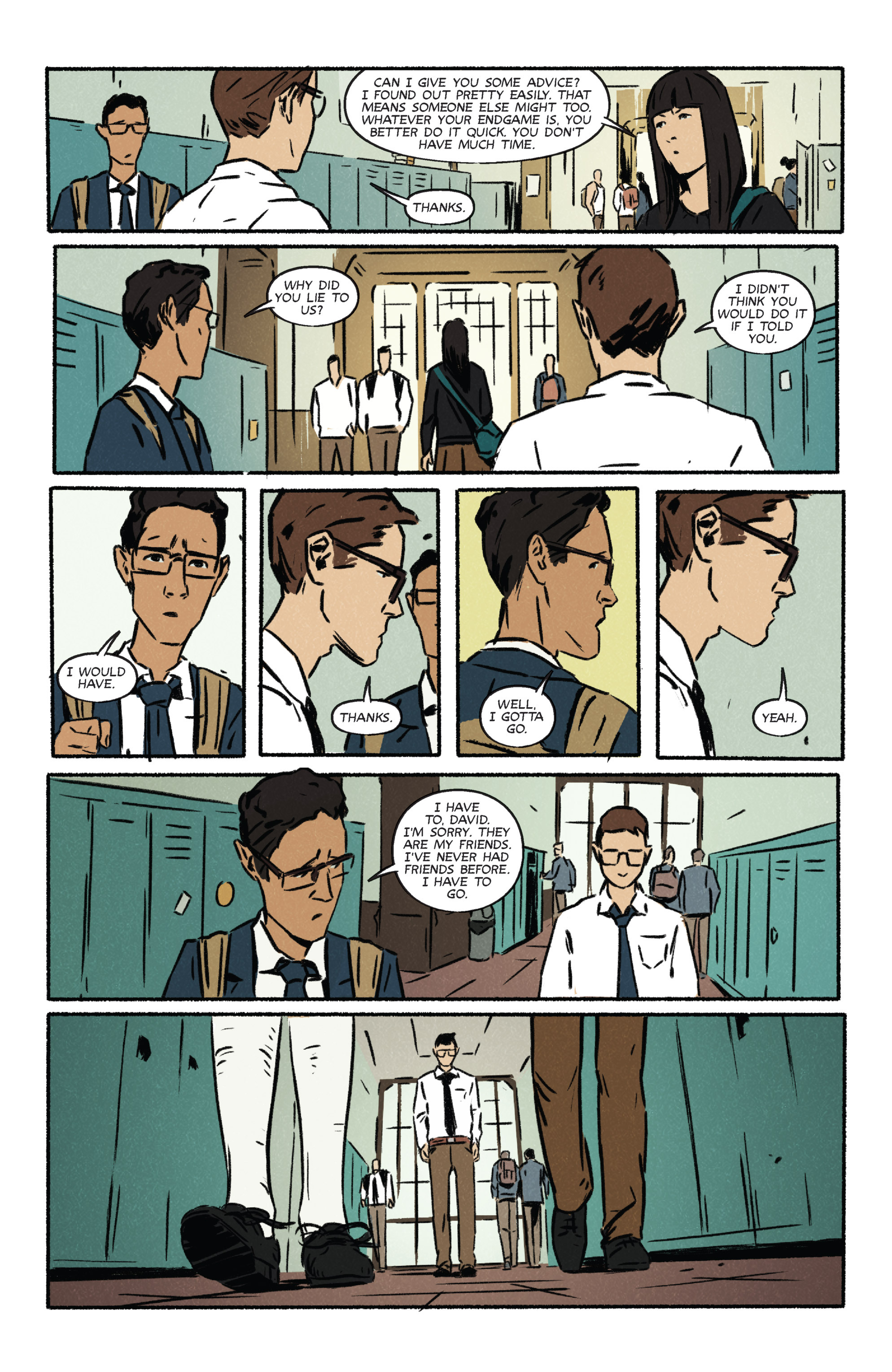 Read online Night Owl Society comic -  Issue #2 - 25