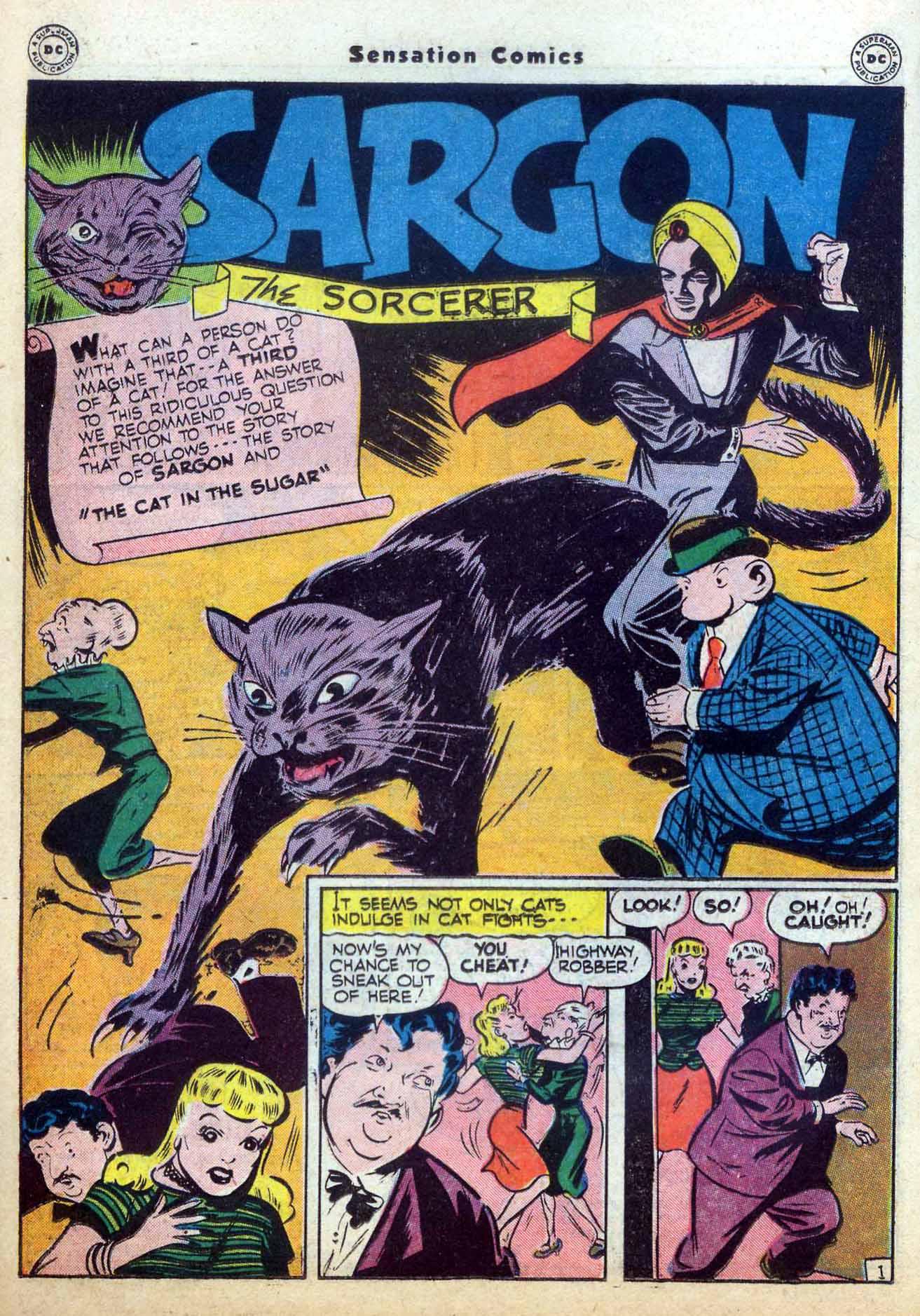 Read online Sensation (Mystery) Comics comic -  Issue #59 - 24