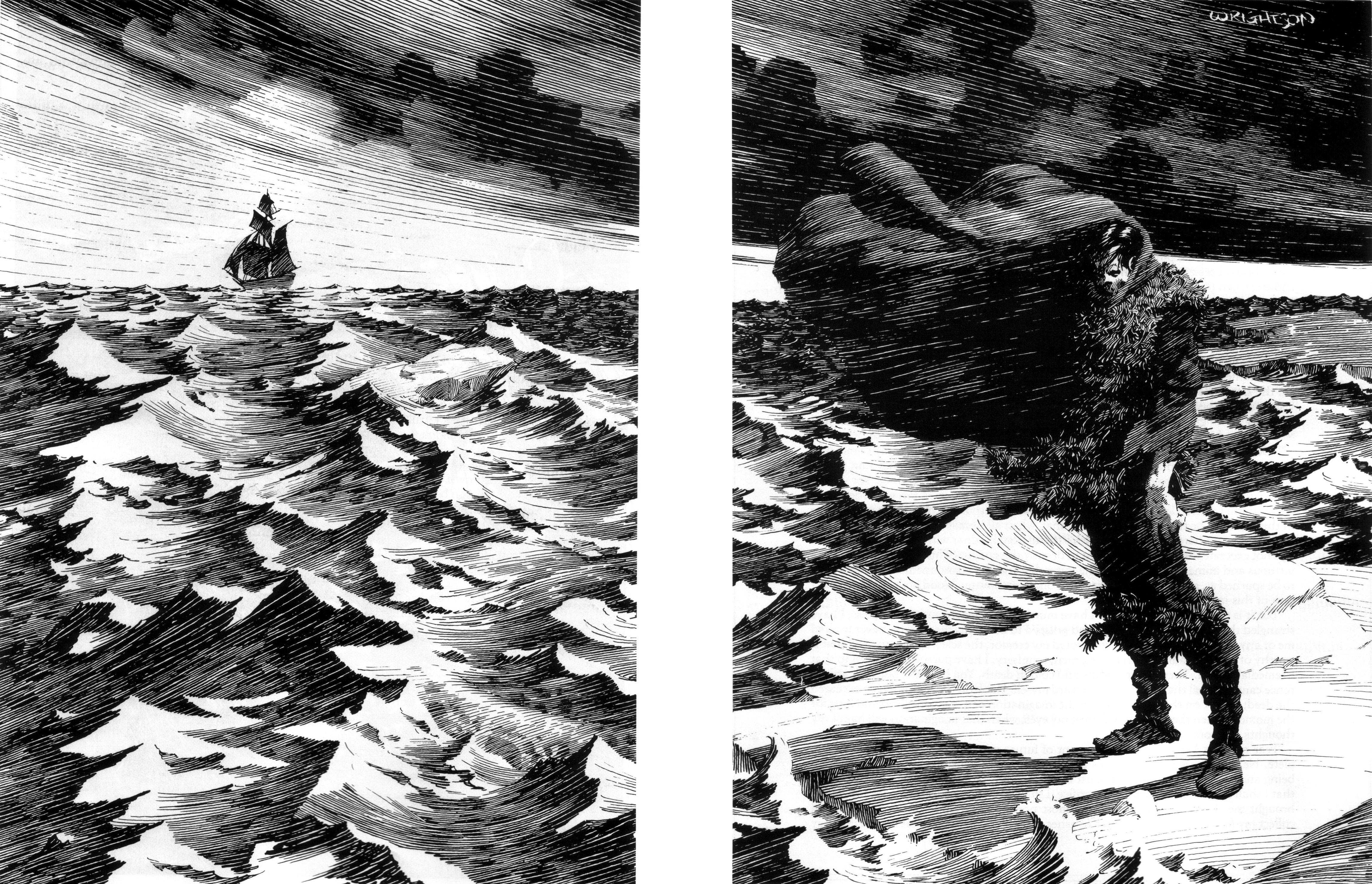Read online Bernie Wrightson's Frankenstein comic -  Issue # Full - 45